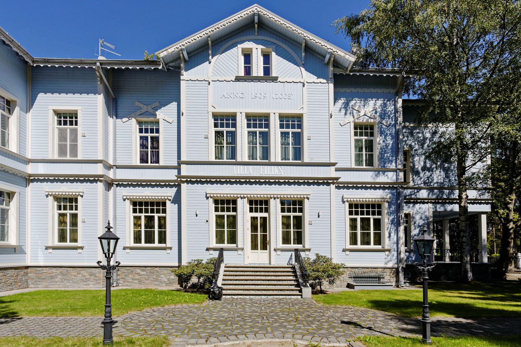 sales property at Unique Villa Filix in the resort city Jurmala