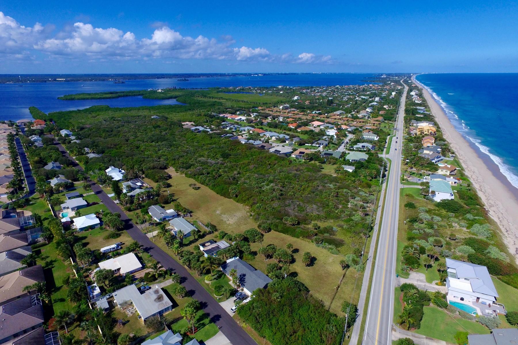 Terrain pour l Vente à 5400 Highway A1A Melbourne Beach, Florida, 32951 États-Unis