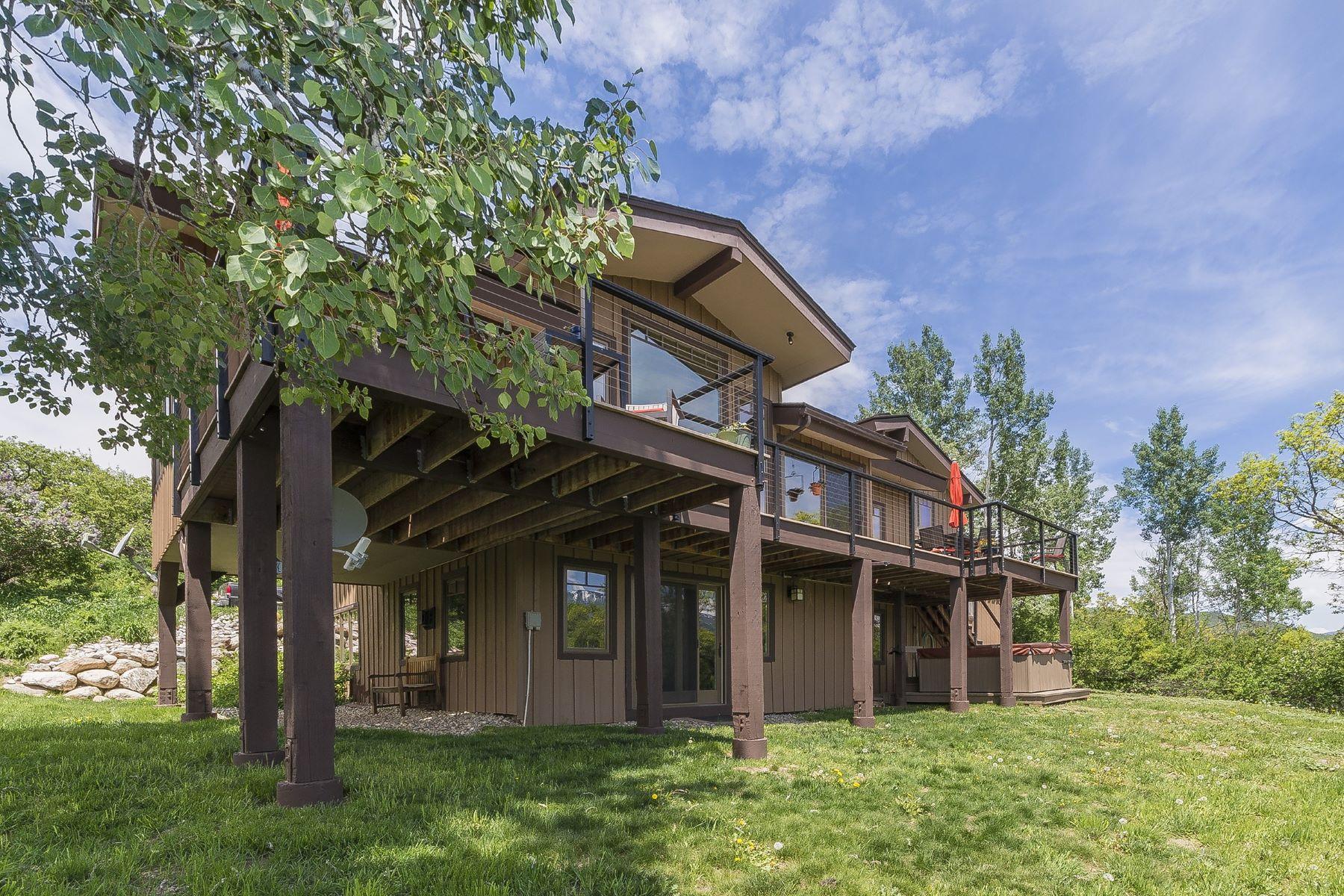 Einfamilienhaus für Verkauf beim Beautiful Home Just minutes To Steamboat 30920 Elk Lane Steamboat Springs, Colorado, 80487 Vereinigte Staaten
