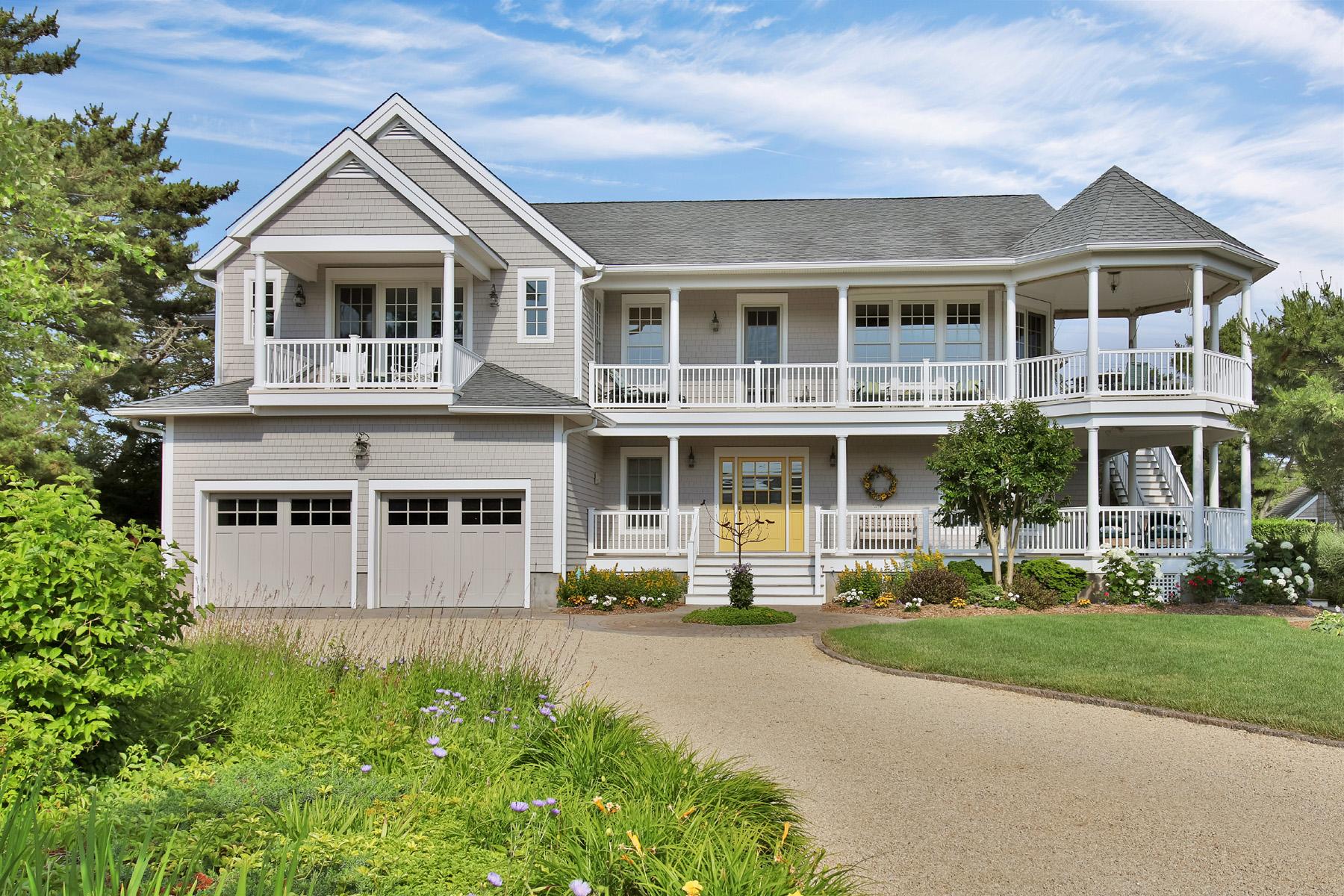 獨棟家庭住宅 為 出售 在 Custom Nantucket Style Shore Colonial 1513 Runyon Lane Mantoloking, 新澤西州, 08738 美國