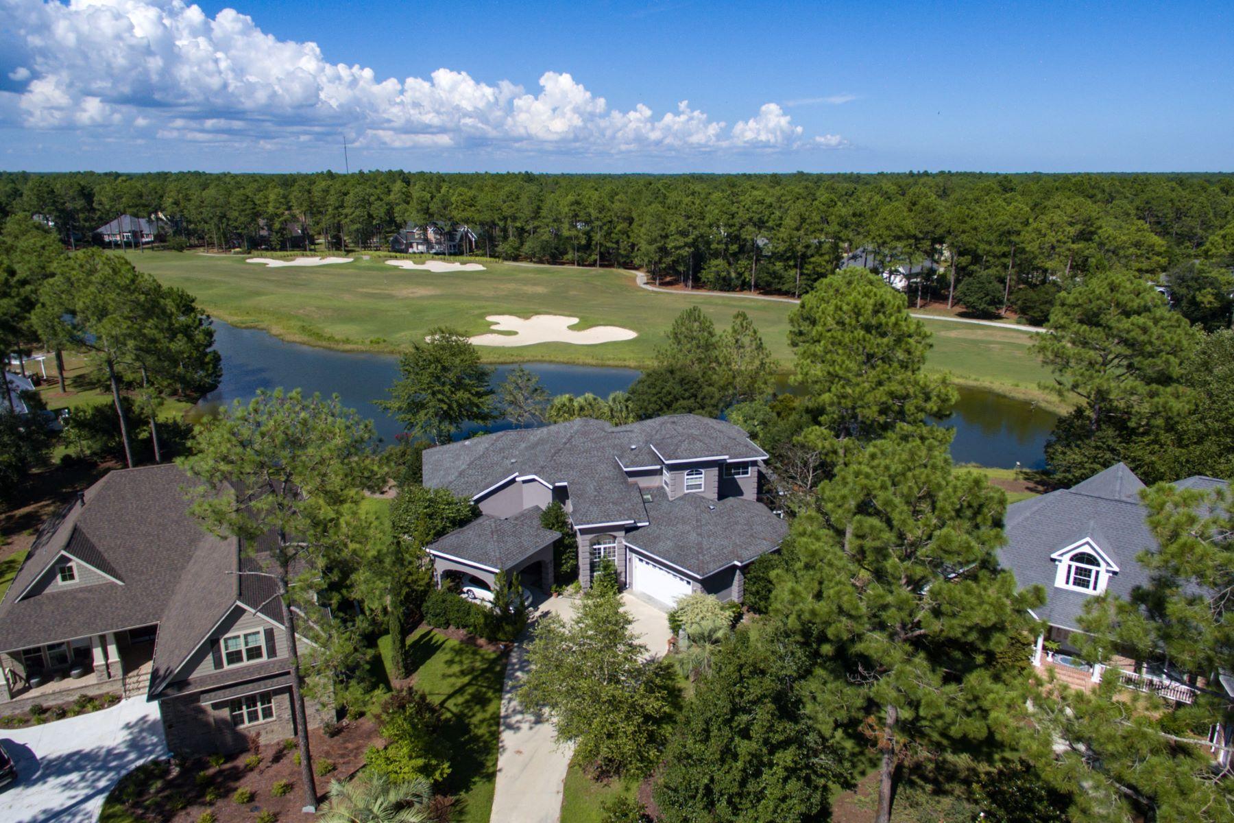 Single Family Home for Sale at Harmonious Hidden Masterpiece 1734 Merriweather Lane SE Bolivia, North Carolina, 28422 United States