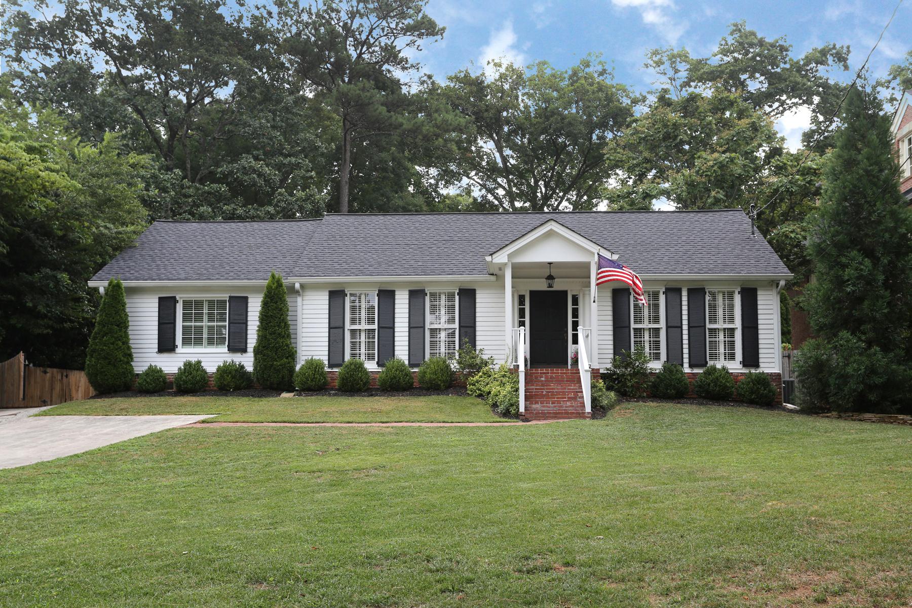 一戸建て のために 売買 アット Charming Total Renovation In Chastain Park 4691 E Conway Drive NW Chastain Park, Atlanta, ジョージア, 30327 アメリカ合衆国