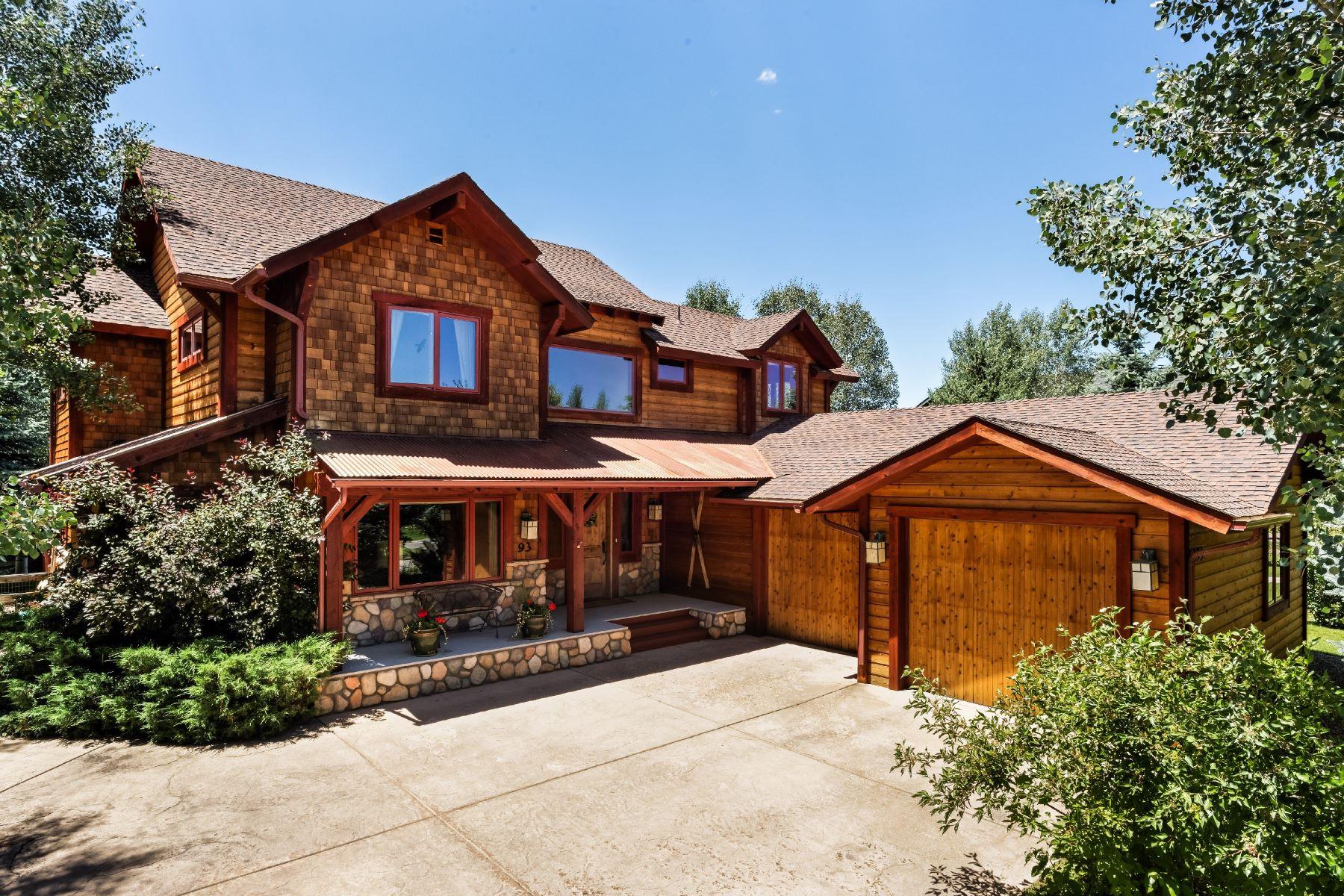 Maison unifamiliale pour l Vente à River Valley Ranch 93 Crystal Canyon Carbondale, Colorado, 81623 États-Unis