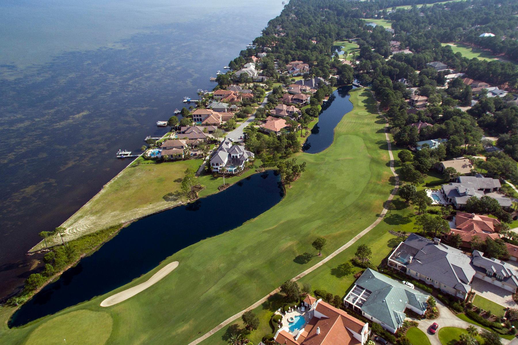 Земля для того Продажа на LARGE LOT ON QUIET CUL-DE-SAC IN BURNT PINE 3233 Bay Estates Drive Miramar Beach, Флорида, 32550 Соединенные Штаты