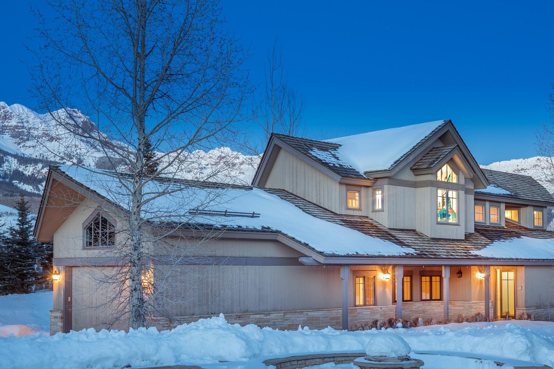 Villa per Vendita alle ore 110 Singletree Ridge Telluride, Colorado, 81435 Stati Uniti