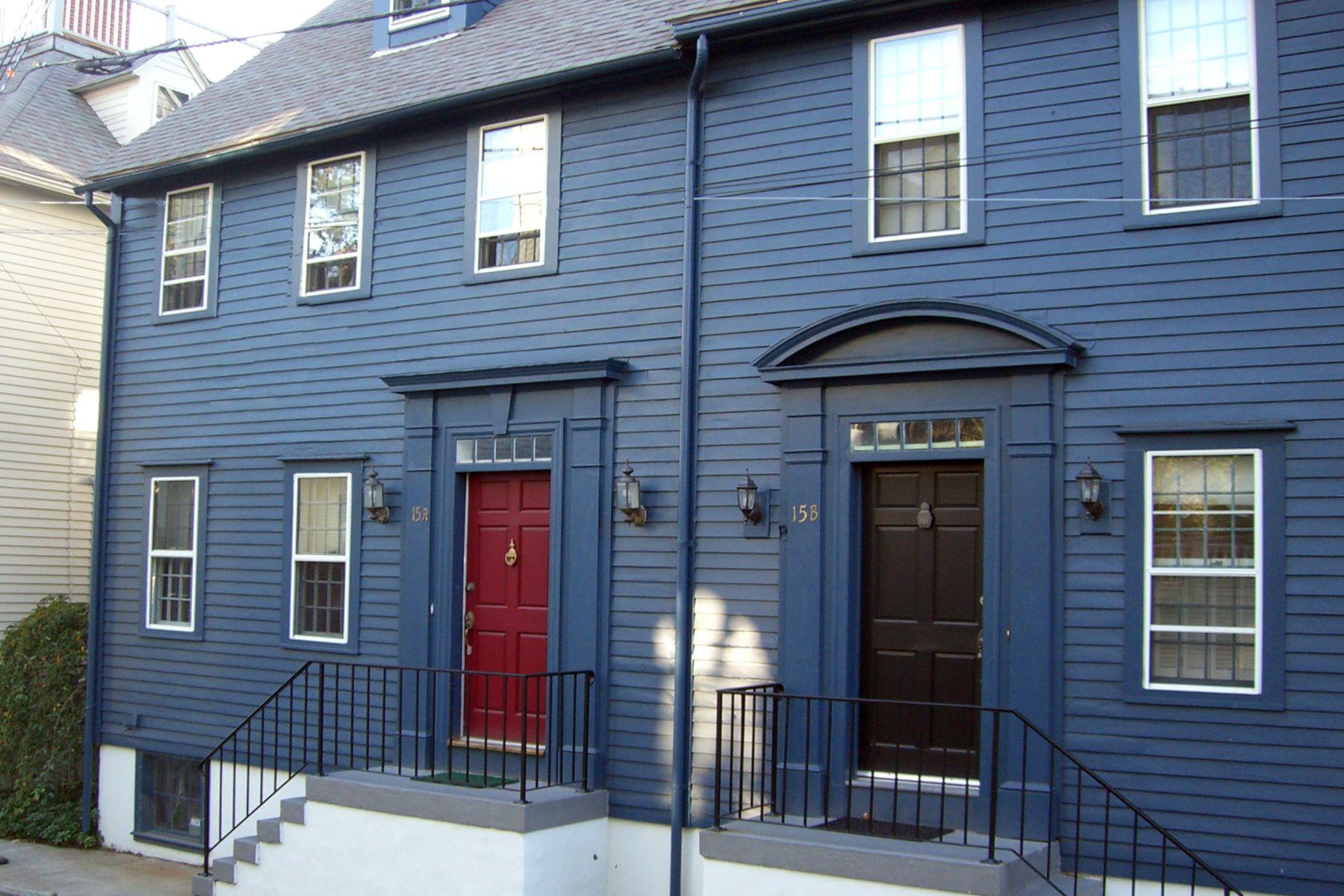 共管式独立产权公寓 为 销售 在 Historic Hill 15 A Corne Street 纽波特, 罗得岛 02840 美国