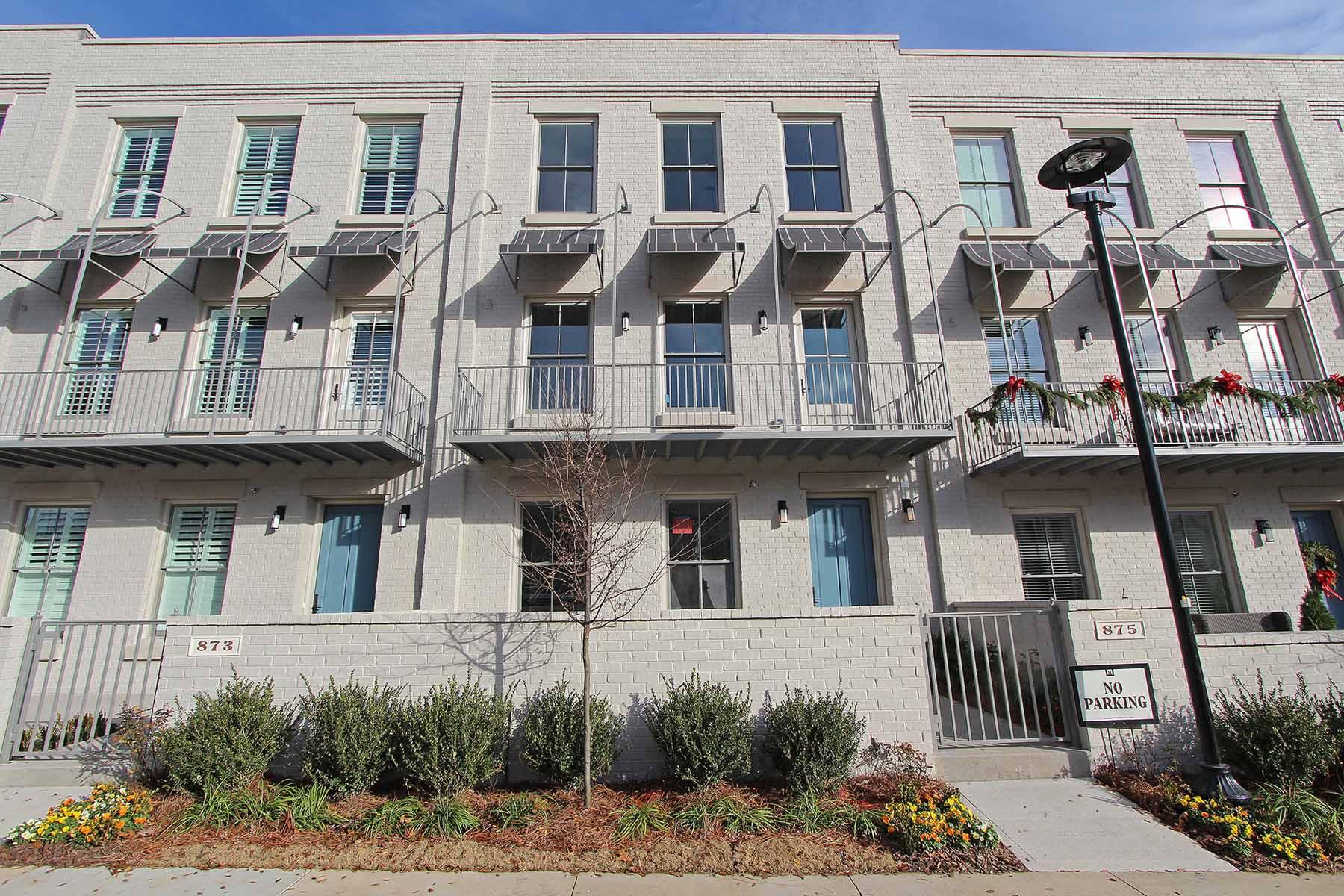 Nhà phố vì Bán tại Life Lived Well Starts Here at Avalon 875 3rd Street Alpharetta, Georgia, 30009 Hoa Kỳ