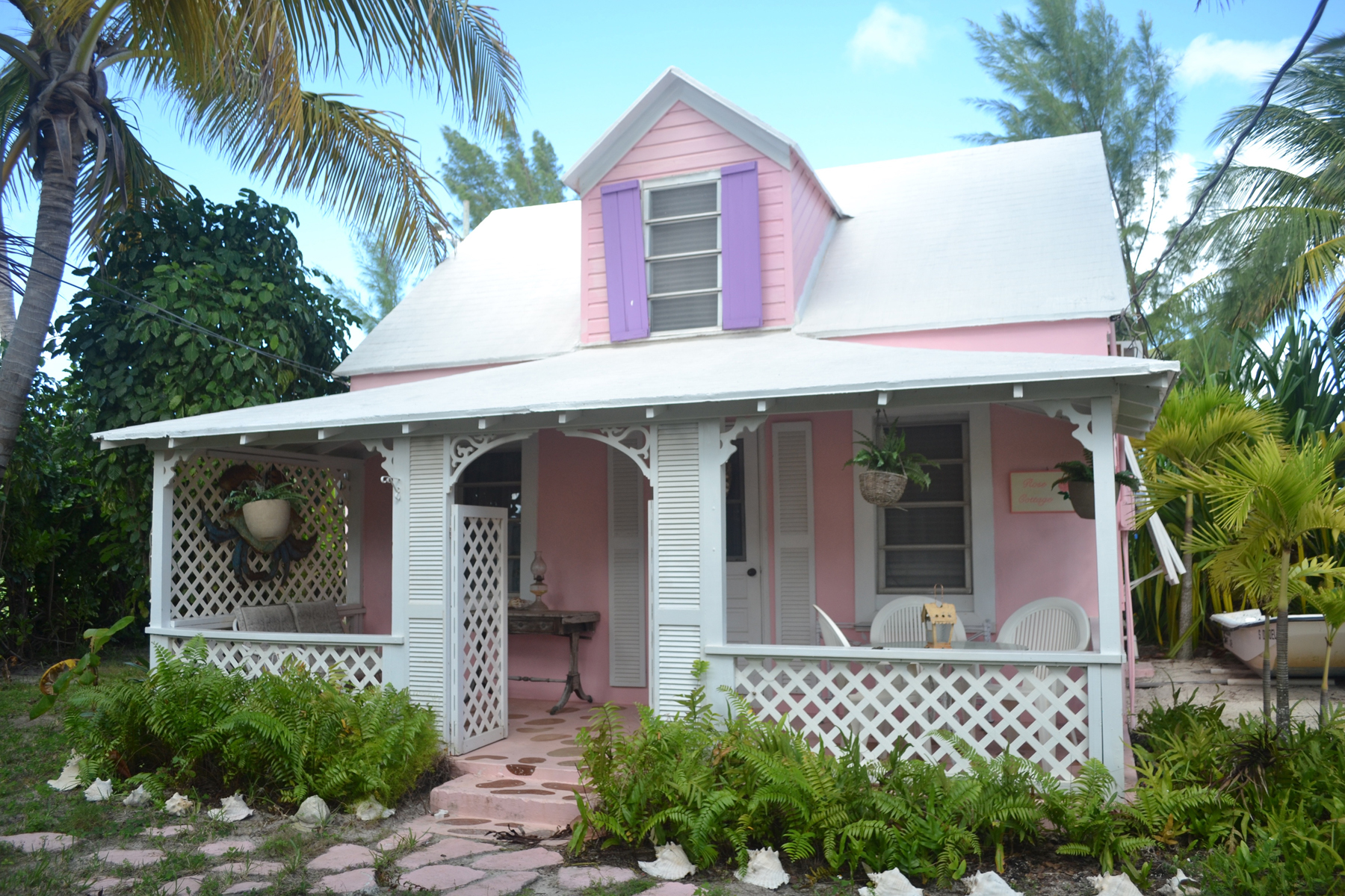 Tek Ailelik Ev için Satış at Rose Cottage Spanish Wells, Eleuthera, Bahamalar