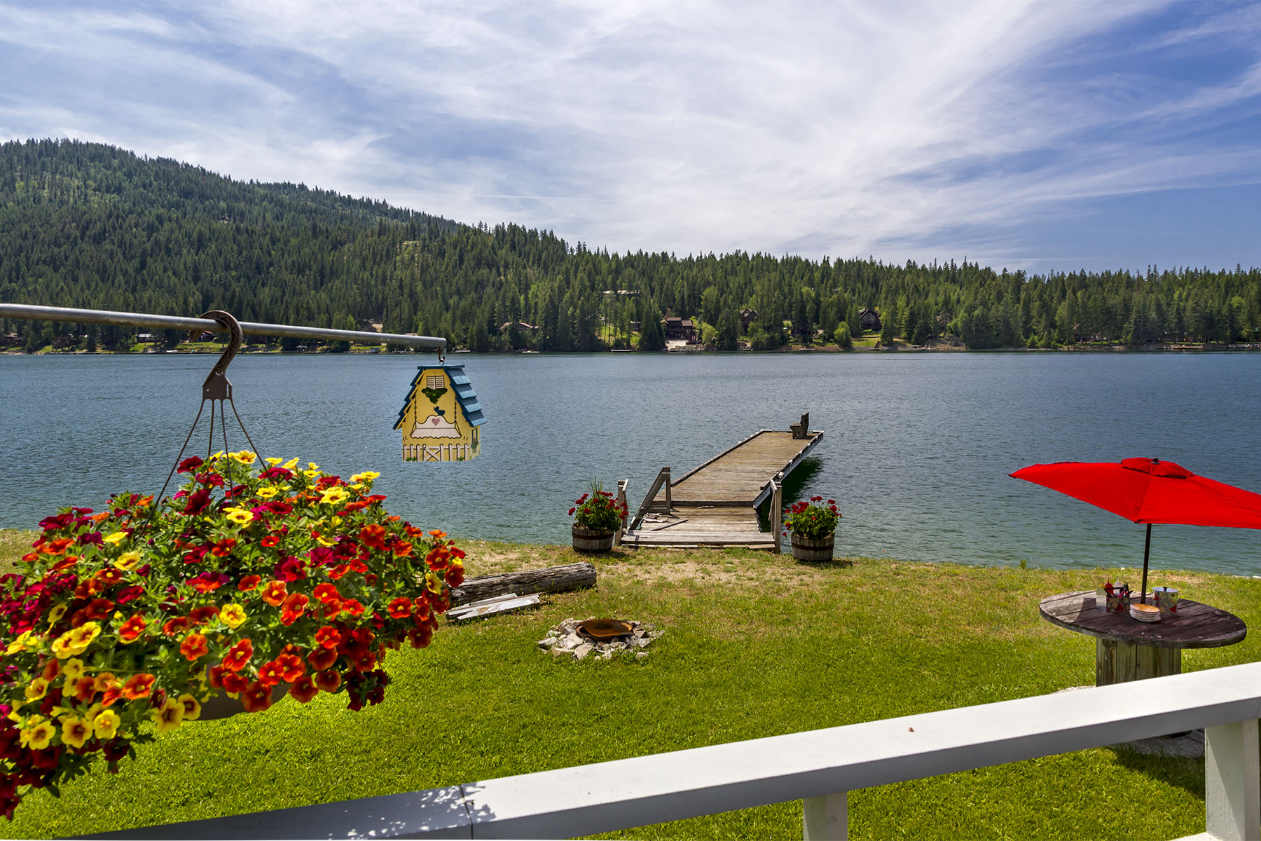 Single Family Home for Sale at Snug Harbor Waterfront 552 Snug Harbor Sandpoint, Idaho, 83864 United States
