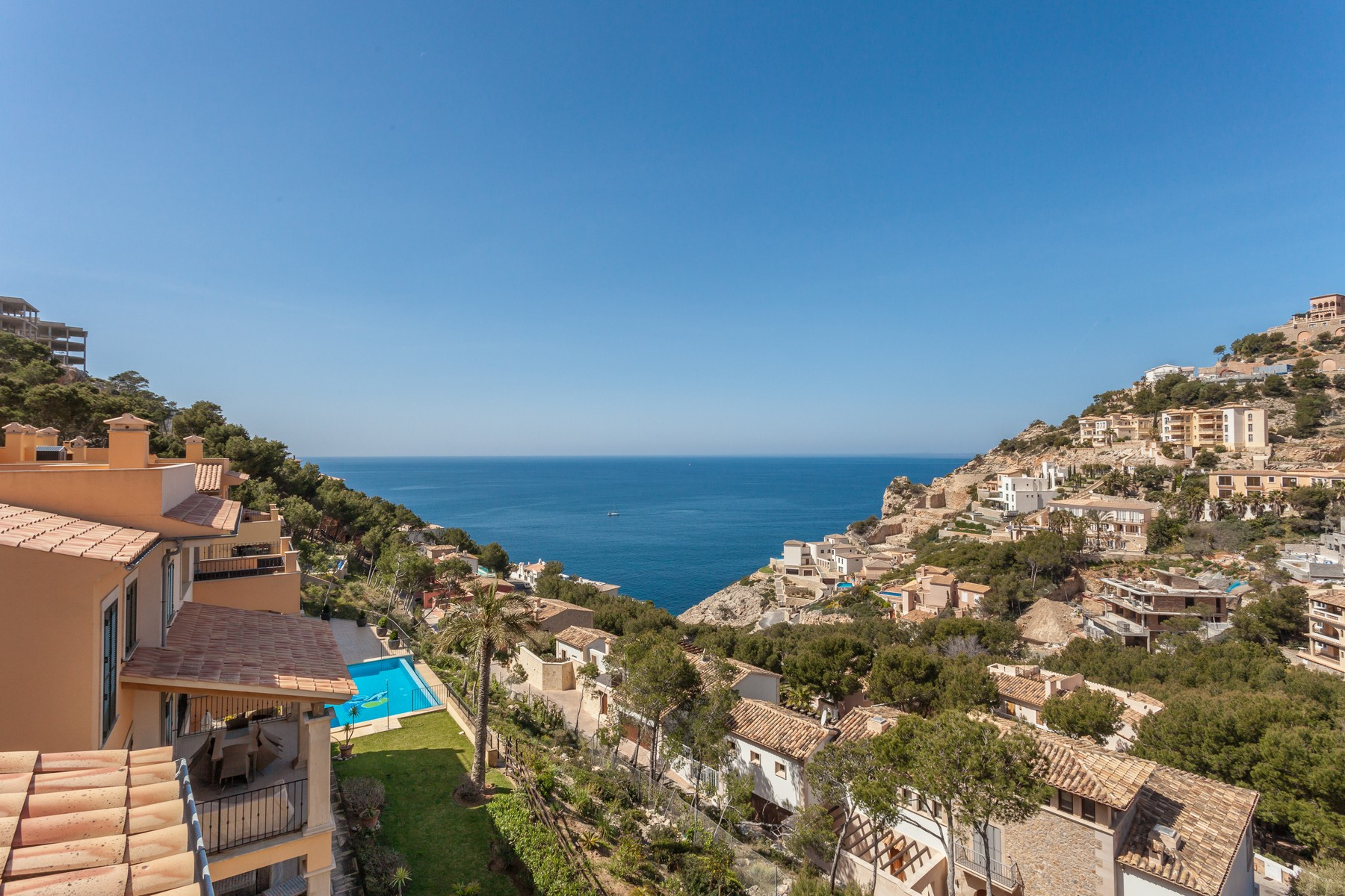 Single Family Home for Sale at Penthouse in a small community in Cala Moragues Port Andratx, Mallorca, 07157 Spain