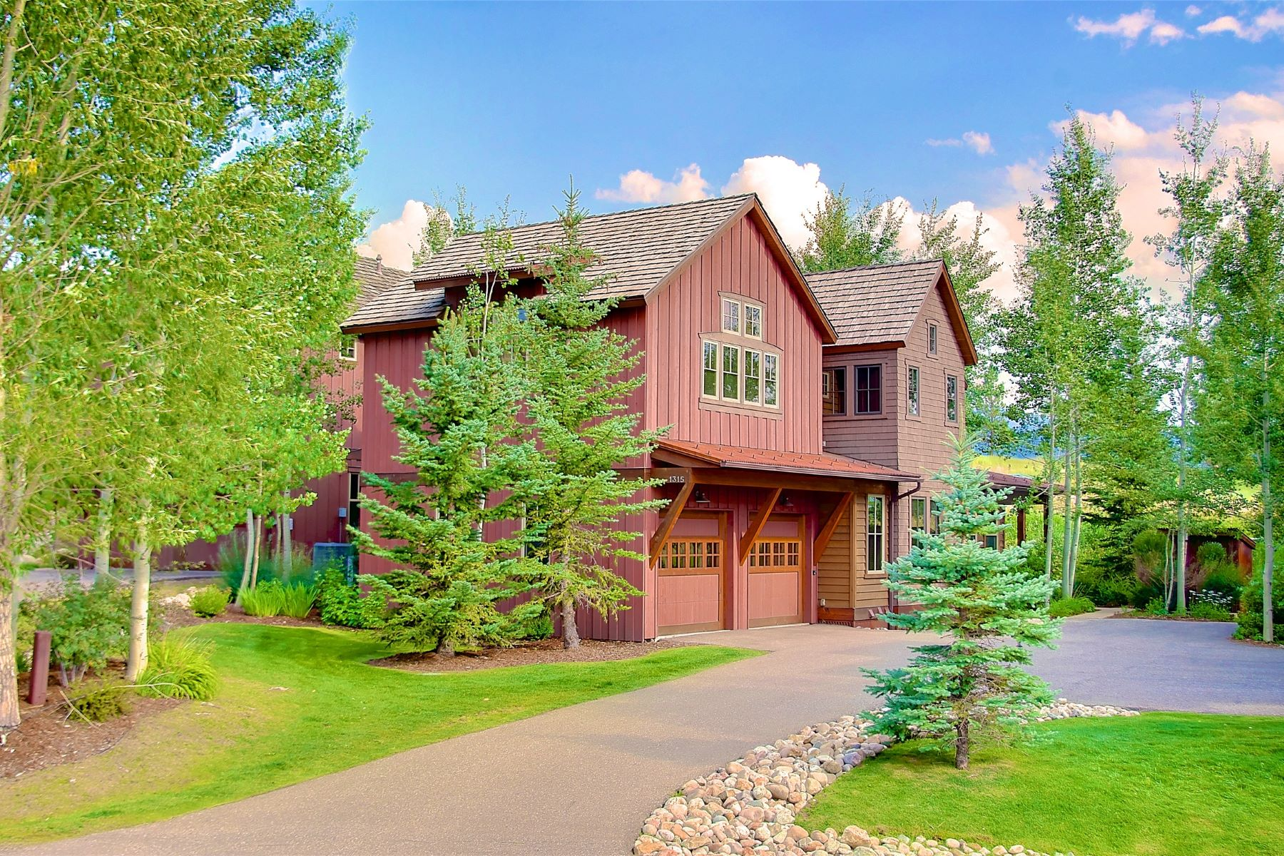Townhouse for Sale at The Porches of Steamboat 1303 Turning Leaf Court Steamboat Springs, Colorado 80487 United States