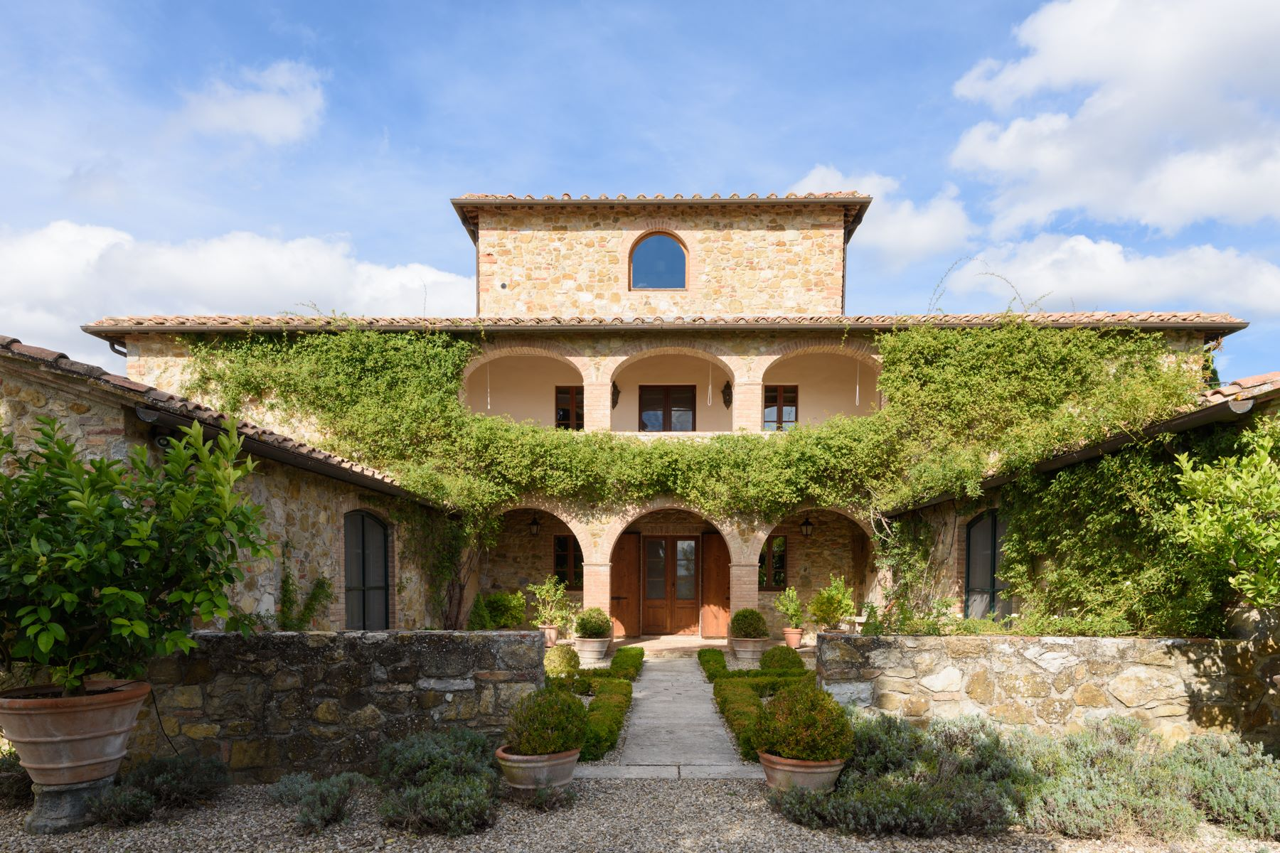 Single Family Home for Sale at Luxury Chianti country estate Castelnuovo Berardenga Siena, 53019 Italy