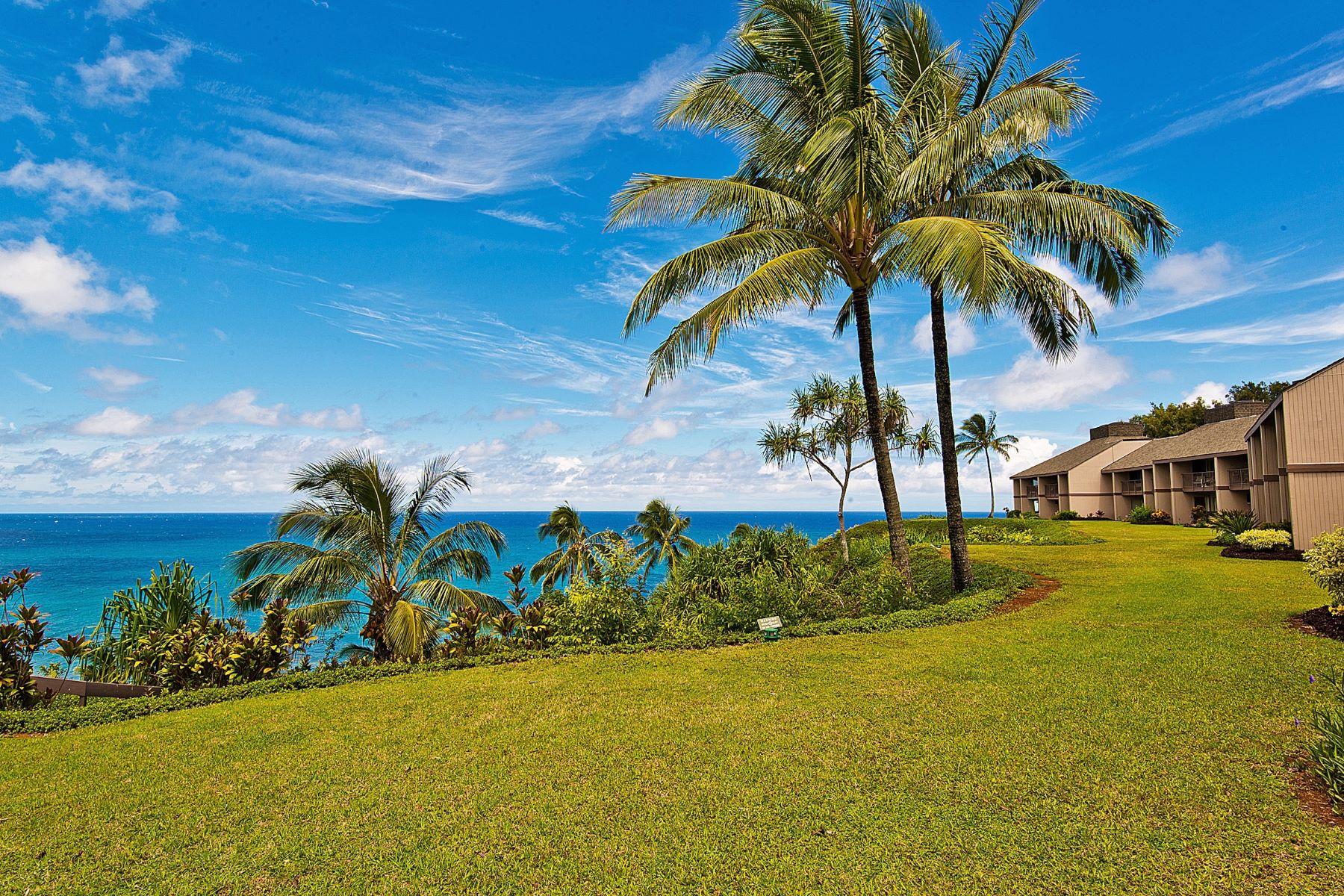 Appartement en copropriété pour l Vente à Pali Ke Kua 5300 Ka Haku Road #107A Princeville, Hawaii, 96722 États-Unis