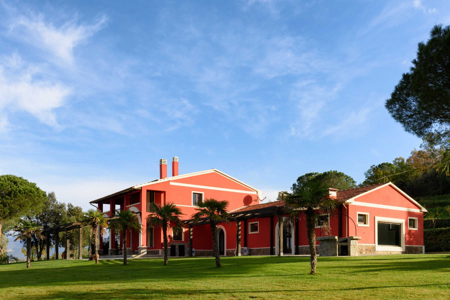 Landgut / Bauernhof / Plantage für Verkauf beim Incomparable renovated villa surrounded by Olive trees Gavorrano Castiglione Della Pescaia, Grosseto 58023 Italien