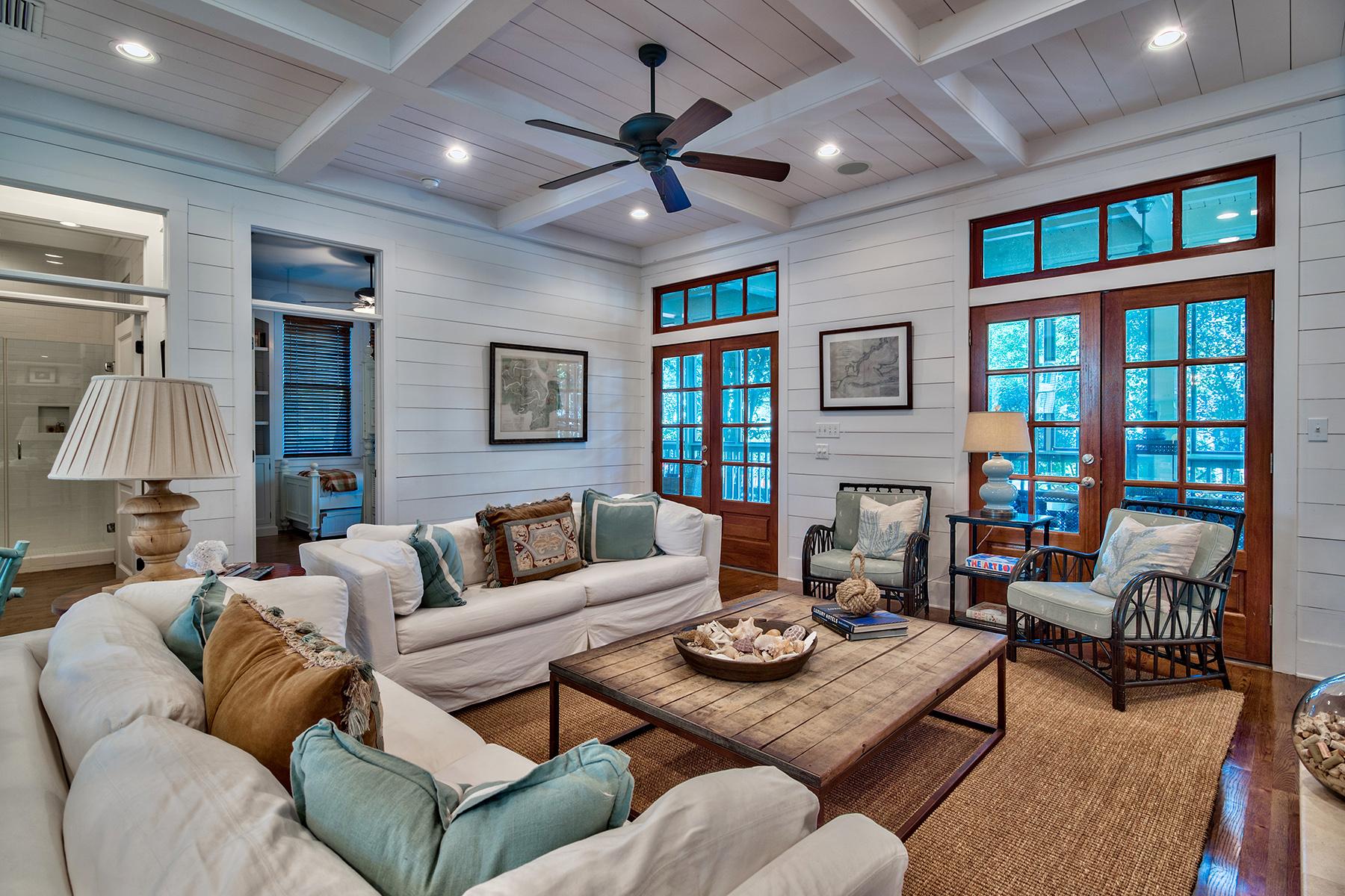 Einfamilienhaus für Verkauf beim PICTURE PERFECT HOME IN WATERCOLOR 420 Western Lake Drive Watercolor, Santa Rosa Beach, Florida, 32459 Vereinigte Staaten