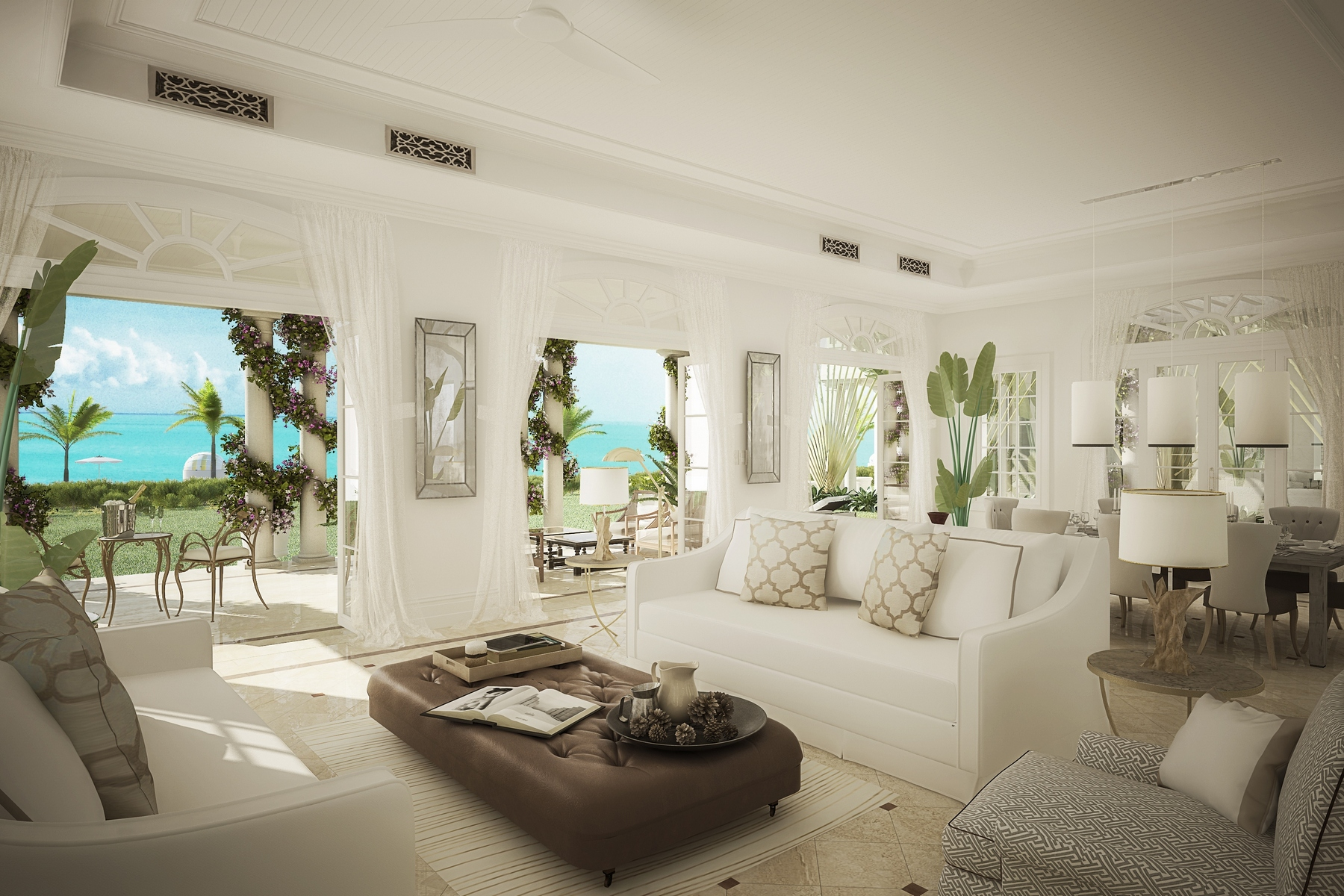 Additional photo for property listing at The Shore Club ~ Villa 6 The Shore Club, Long Bay, Providenciales Turks And Caicos Islands