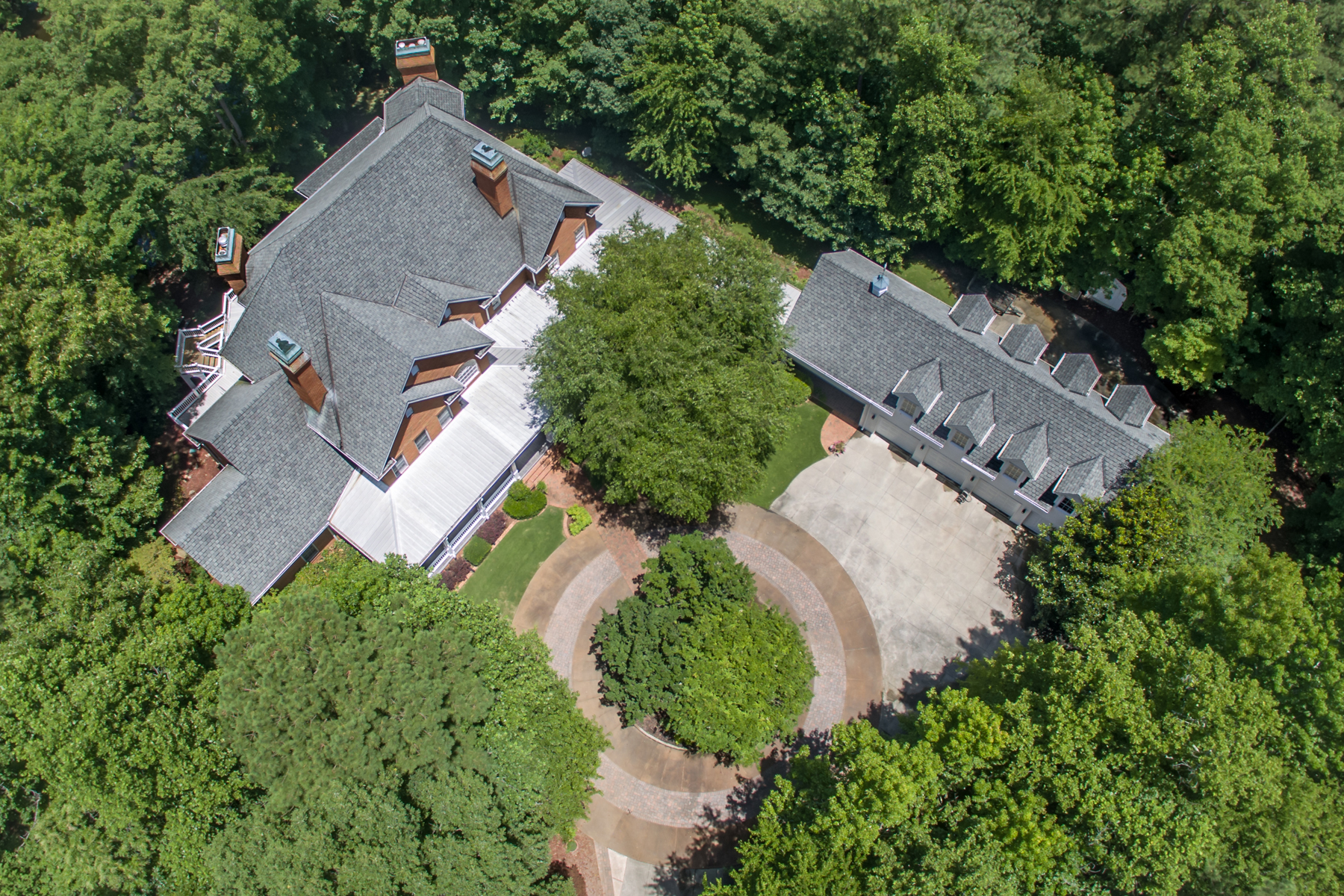 Single Family Home for Active at Magnificent Gated Estate 1836 County Line Road NW Acworth, Georgia 30101 United States