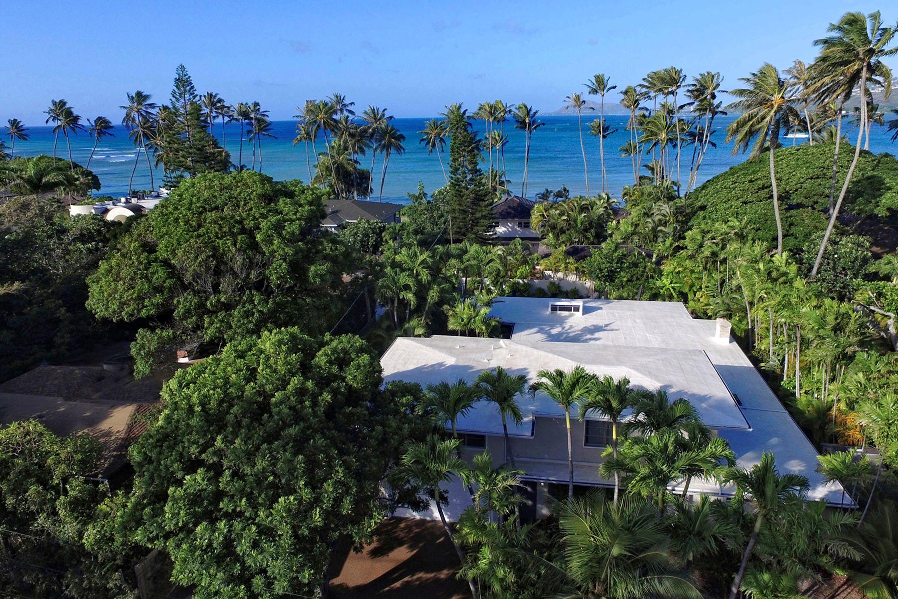 Maison unifamiliale pour l Vente à Portlock Paradise 311 Portlock Road Portlock, Honolulu, Hawaii, 96825 États-Unis
