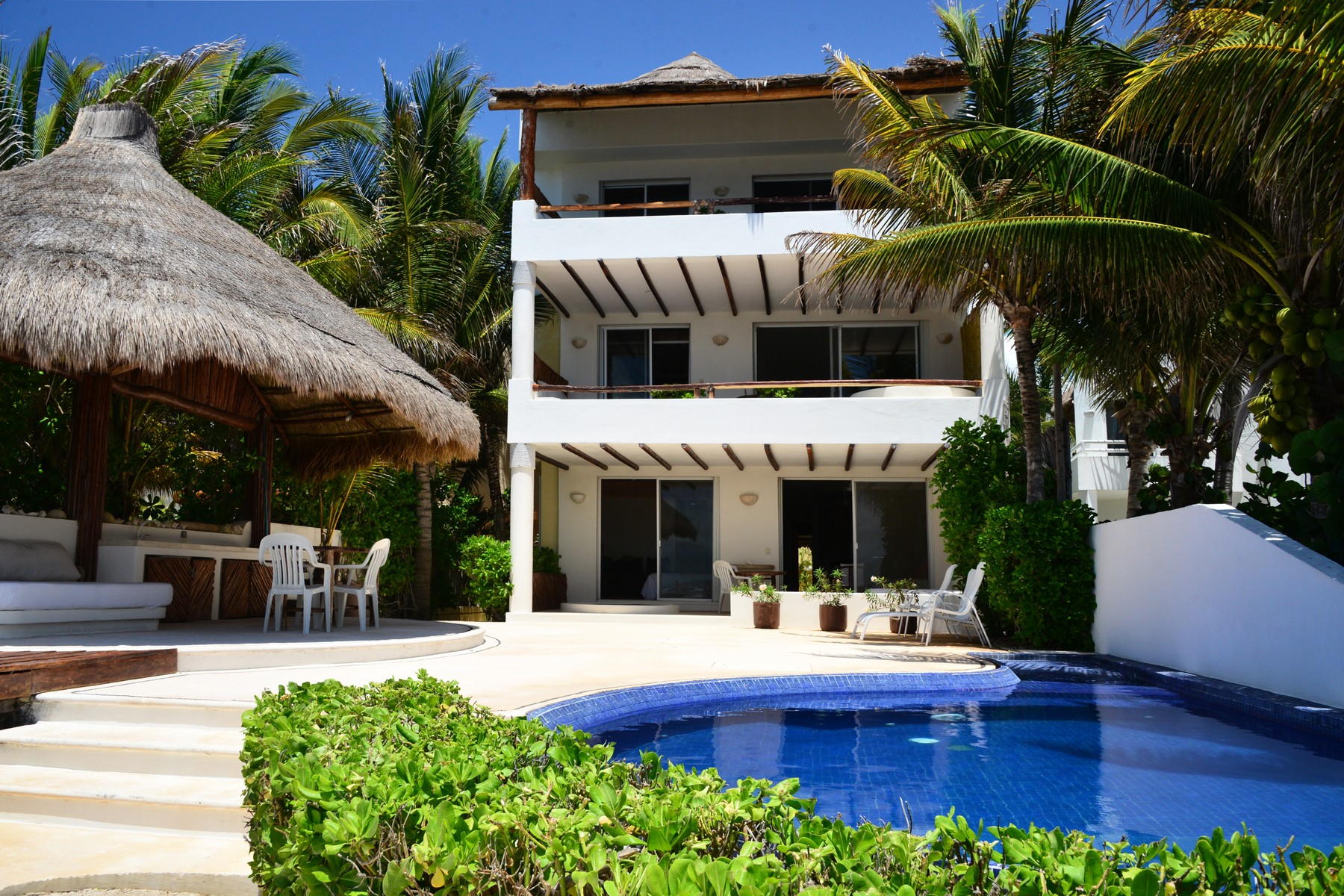 Apartment for Sale at SEAFRONT PARADISE UNIT #101 Seafront Paradise – Unit #101 Predio Maria Irene, Supermzna 12, Mzna 21 13 Puerto Morelos, 77930 Mexico
