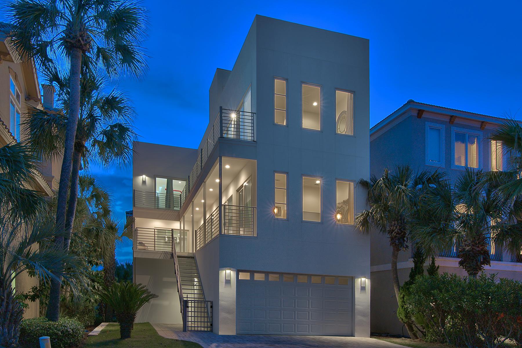 獨棟家庭住宅 為 出售 在 STRIKING GULF VIEW CONTEMPORARY 33 Caicos Cay Destin, 佛羅里達州, 32541 美國