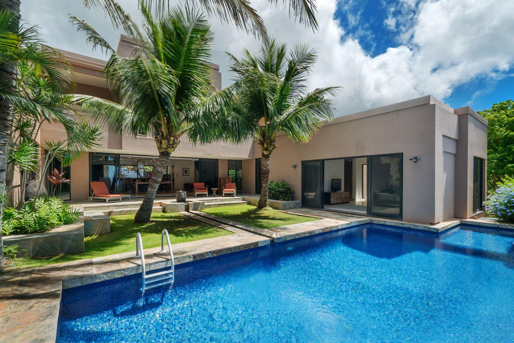Частный односемейный дом для того Продажа на Kahala Kua Contemporary 5614 Poola Street Kahala Kua, Honolulu, Гавайи, 96821 Соединенные Штаты