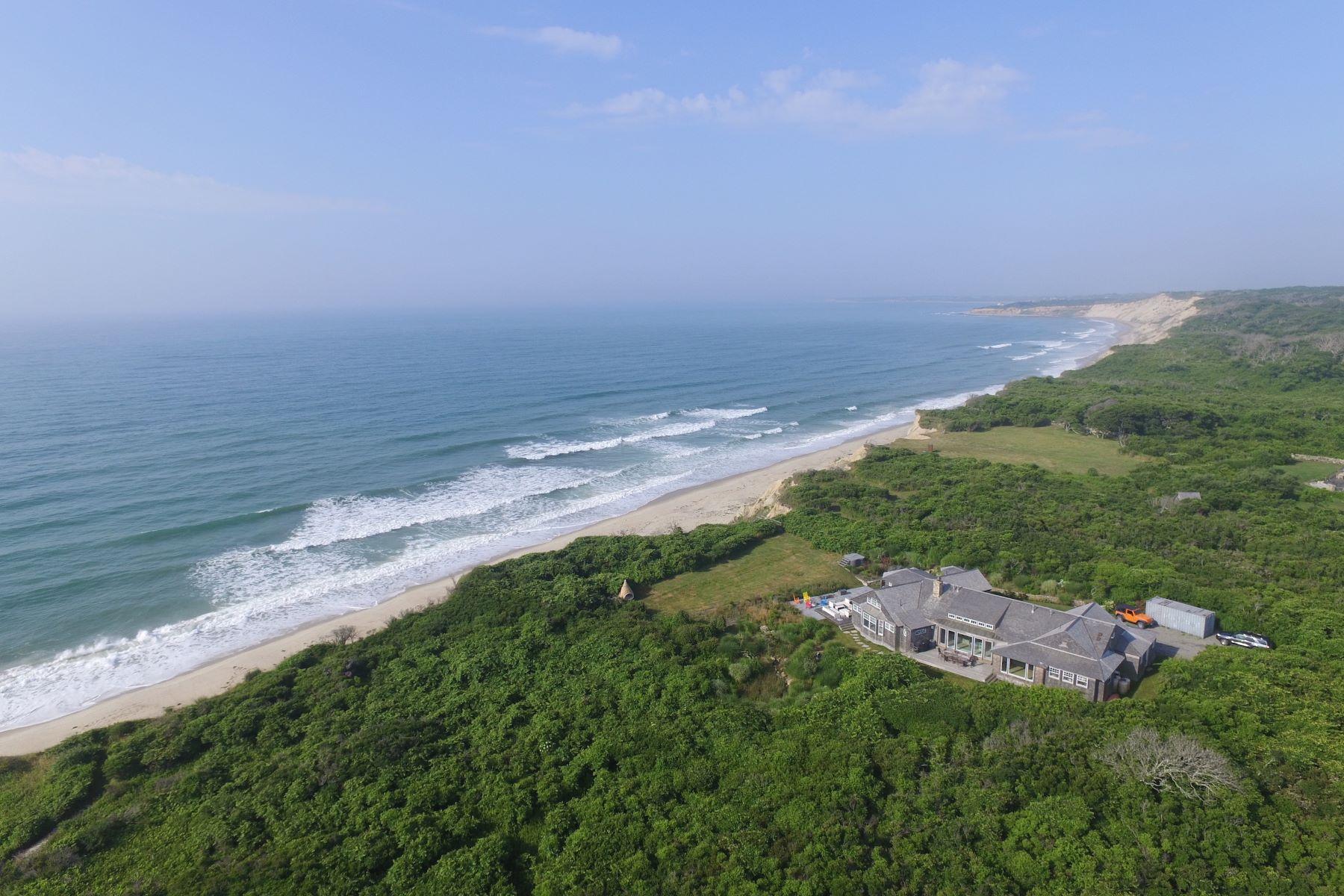Single Family Home for Sale at Oceanfront in Chilmark 11 Azalea Ln Chilmark, Massachusetts 02535 United States