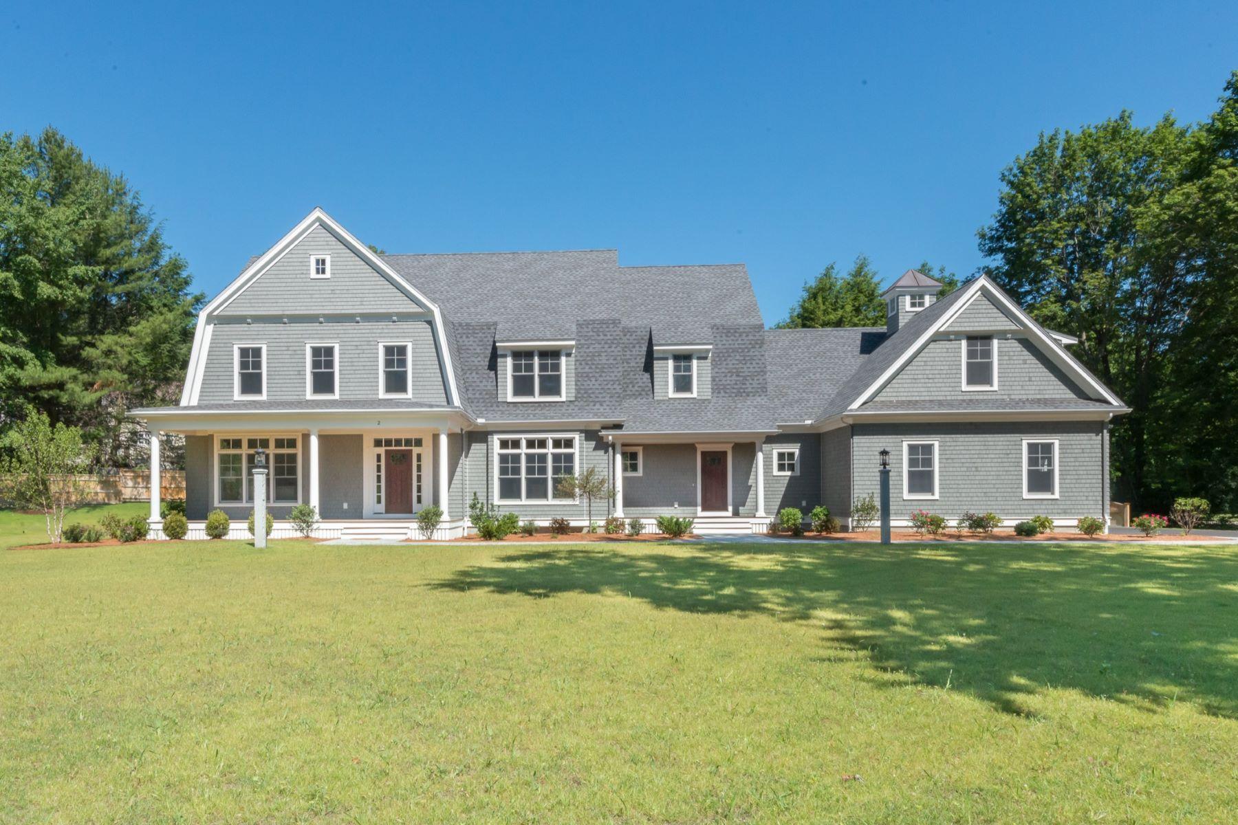 Nhà ở một gia đình vì Bán tại New Nantucket-Style Shingle Home 2 Burnham Road Lexington, Massachusetts, 02420 Hoa Kỳ