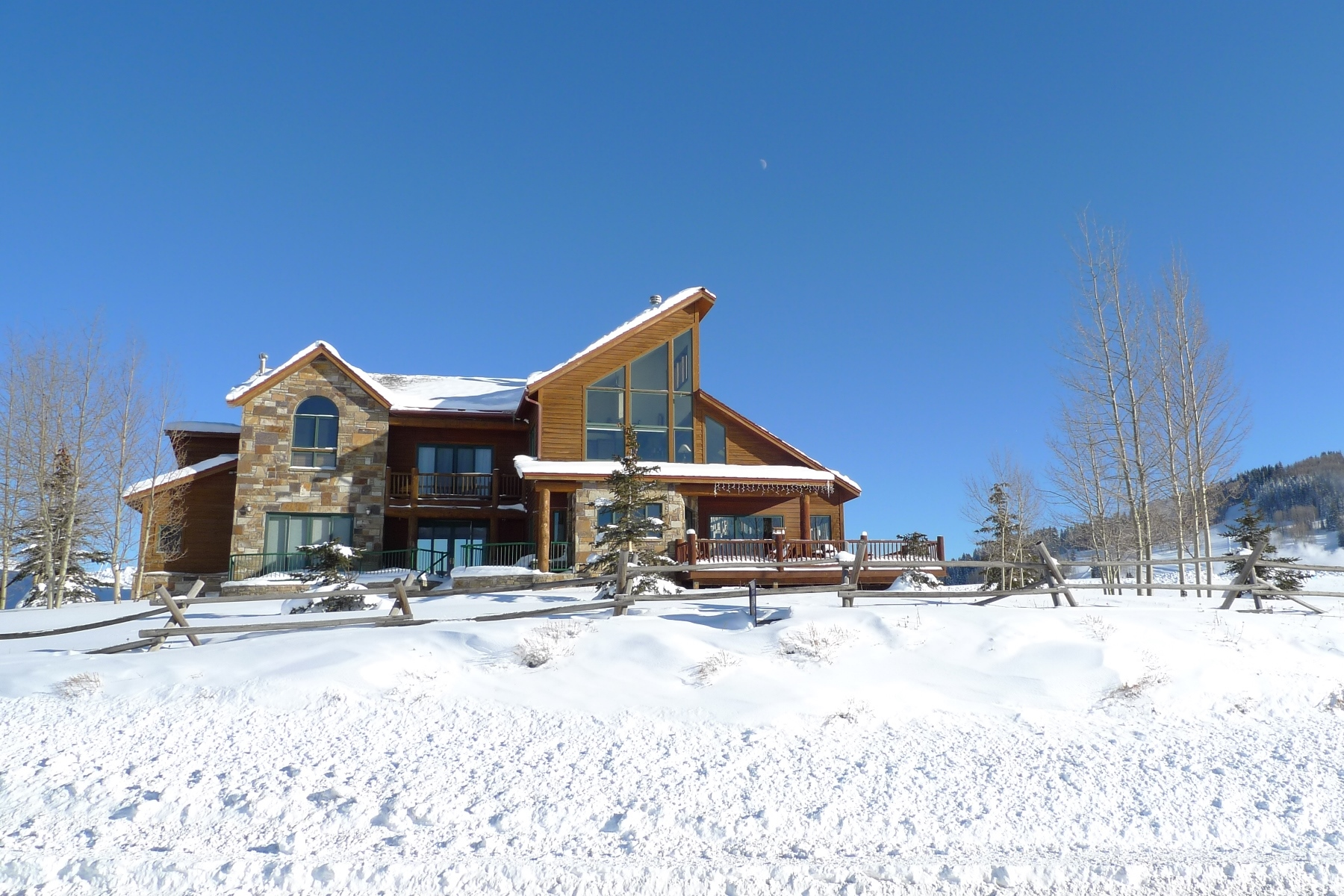 Casa Unifamiliar por un Venta en Breathtaking Panoramic Views 3 Lapis Lane Mount Crested Butte, Colorado, 81225 Estados Unidos