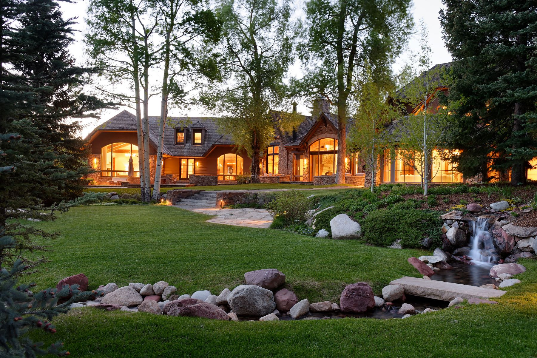 Casa Unifamiliar por un Venta en Aspen Highlands Estate 36 Glen Garry Drive Aspen, Colorado 81611 Estados Unidos
