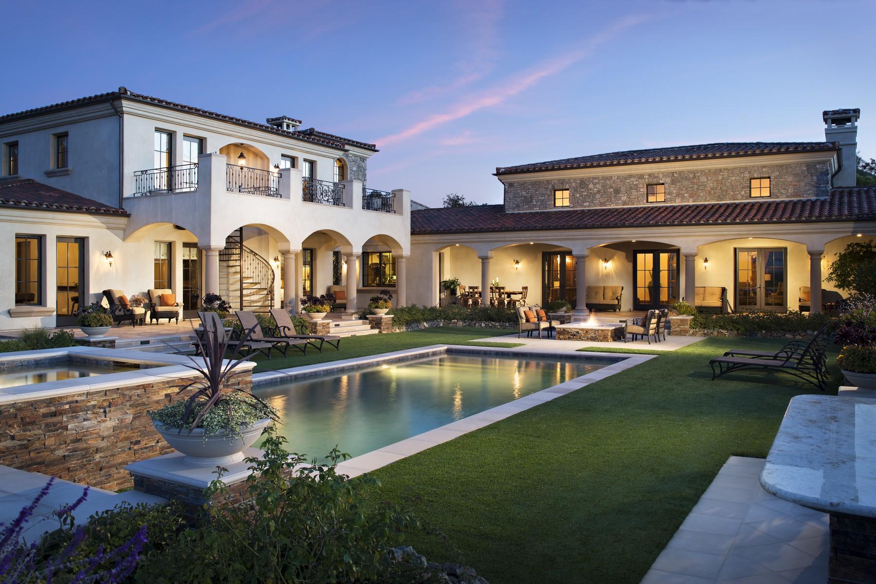 Casa Unifamiliar por un Venta en 18394 Via Ambiente Rancho Santa Fe, California, 92067 Estados Unidos