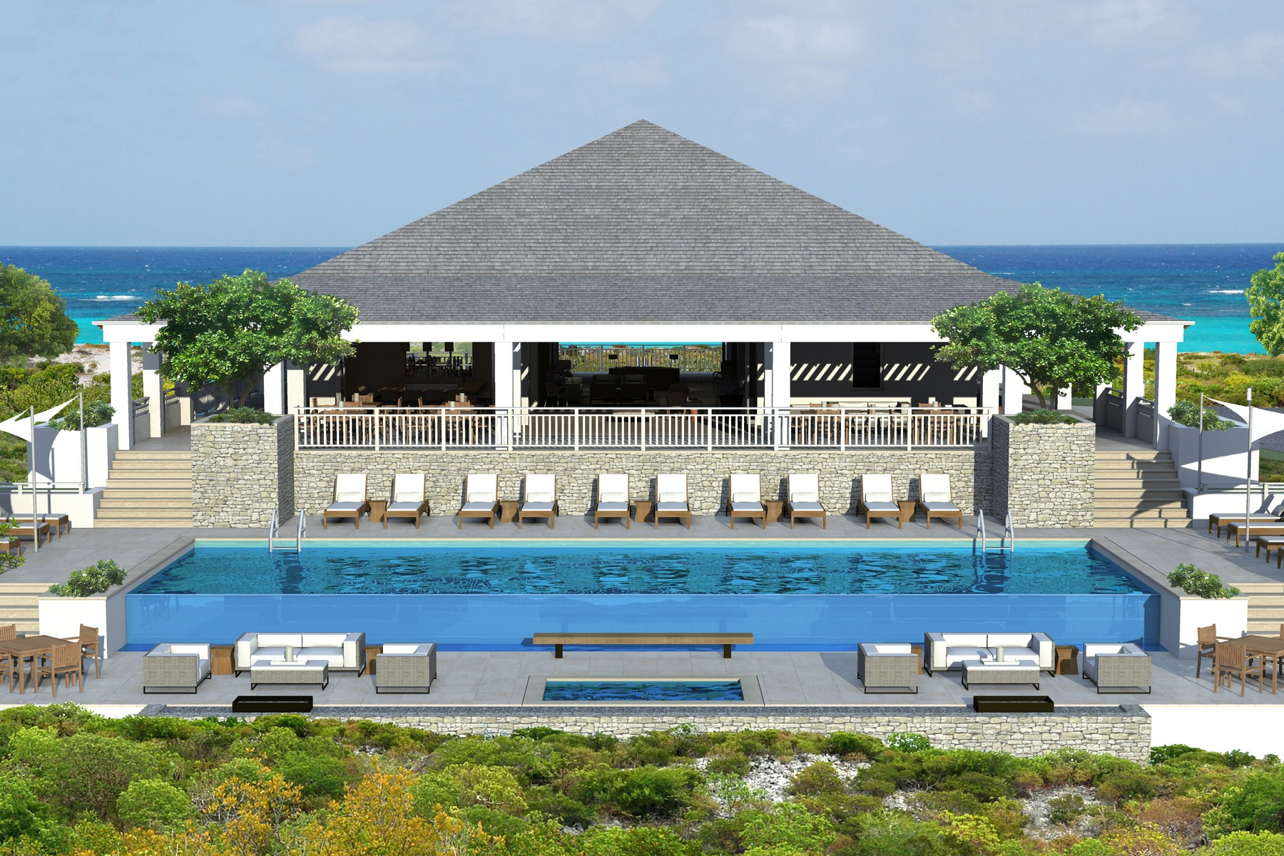 Additional photo for property listing at Ridgetop Residence 812 Oceanview Sailrock, South Caicos TC Îles Turques Et Caïques