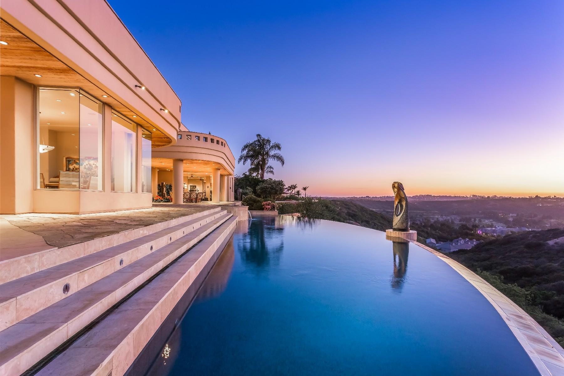 獨棟家庭住宅 為 出售 在 14630 Calle Diegueno Rancho Santa Fe, 加利福尼亞州, 92067 美國
