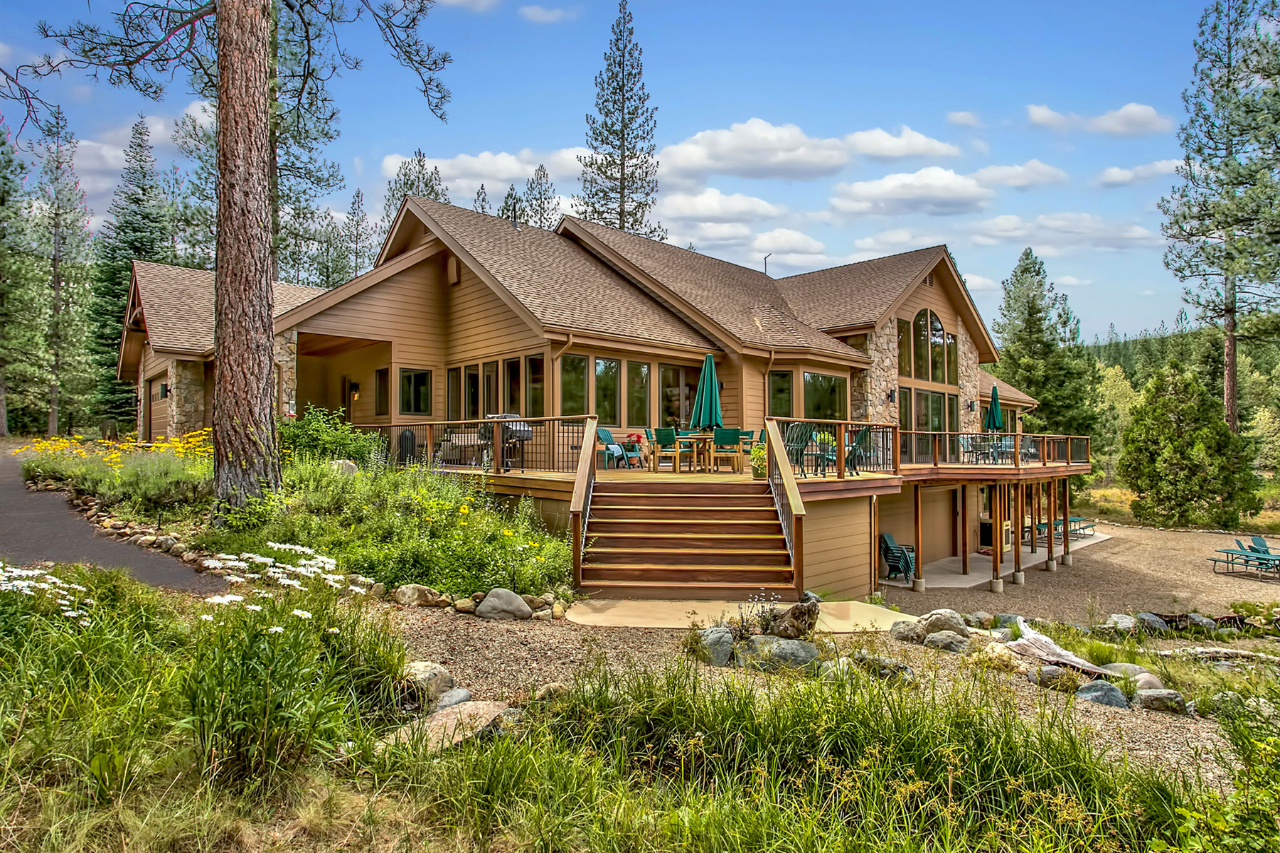 Single Family Home for Active at 1180 Smith Creek Road Graeagle, California 96103 United States