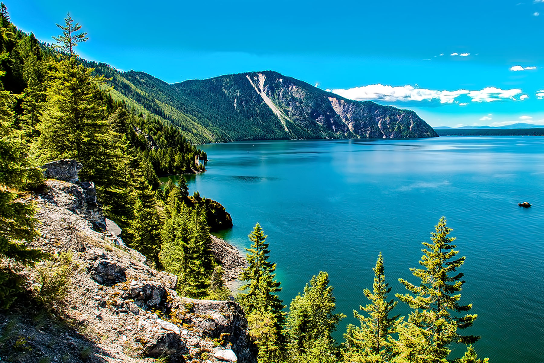 Terreno per Vendita alle ore 1,000+ ft Waterfront on Lake Pend Oreille NNA Blue Peter Lime Bayview, Idaho, 83803 Stati Uniti