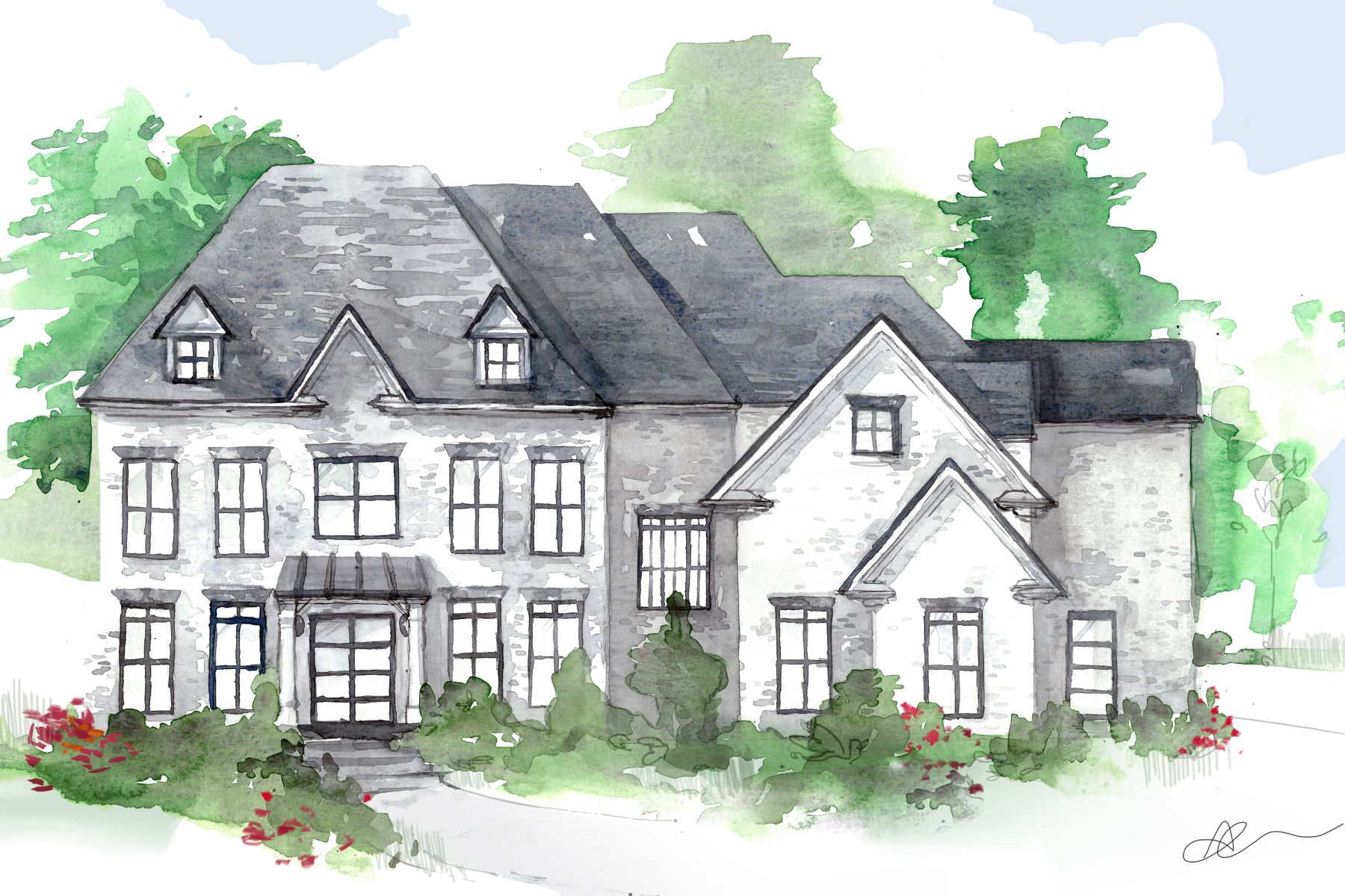 Villa per Vendita alle ore Beautiful New Build Near Chastain 4571 Dudley Lane Sandy Springs, Georgia 30327 Stati Uniti