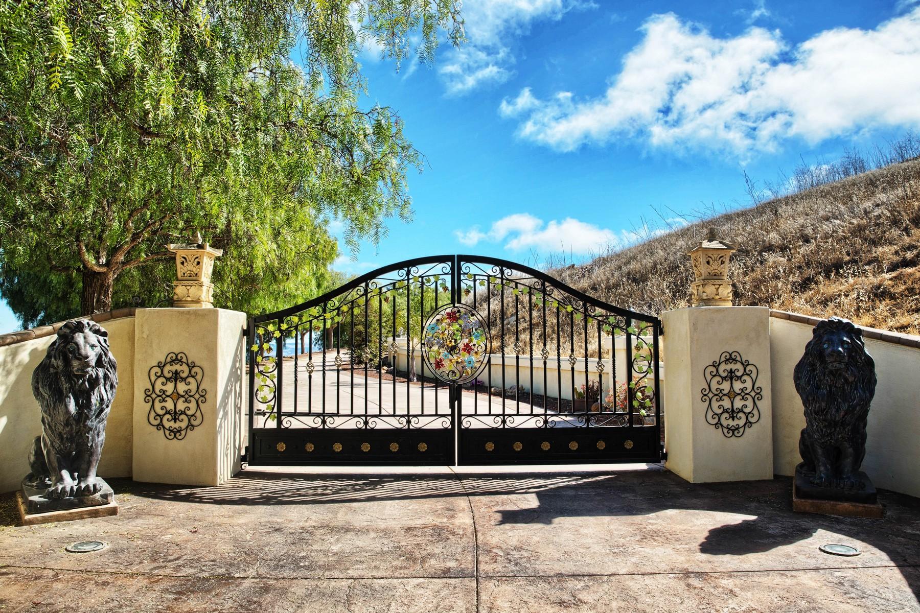 Casa para uma família para Venda às Spectacular 10.24 Acre Estate 1220 Ramal Lane Nipomo, Califórnia, 93444 Estados Unidos