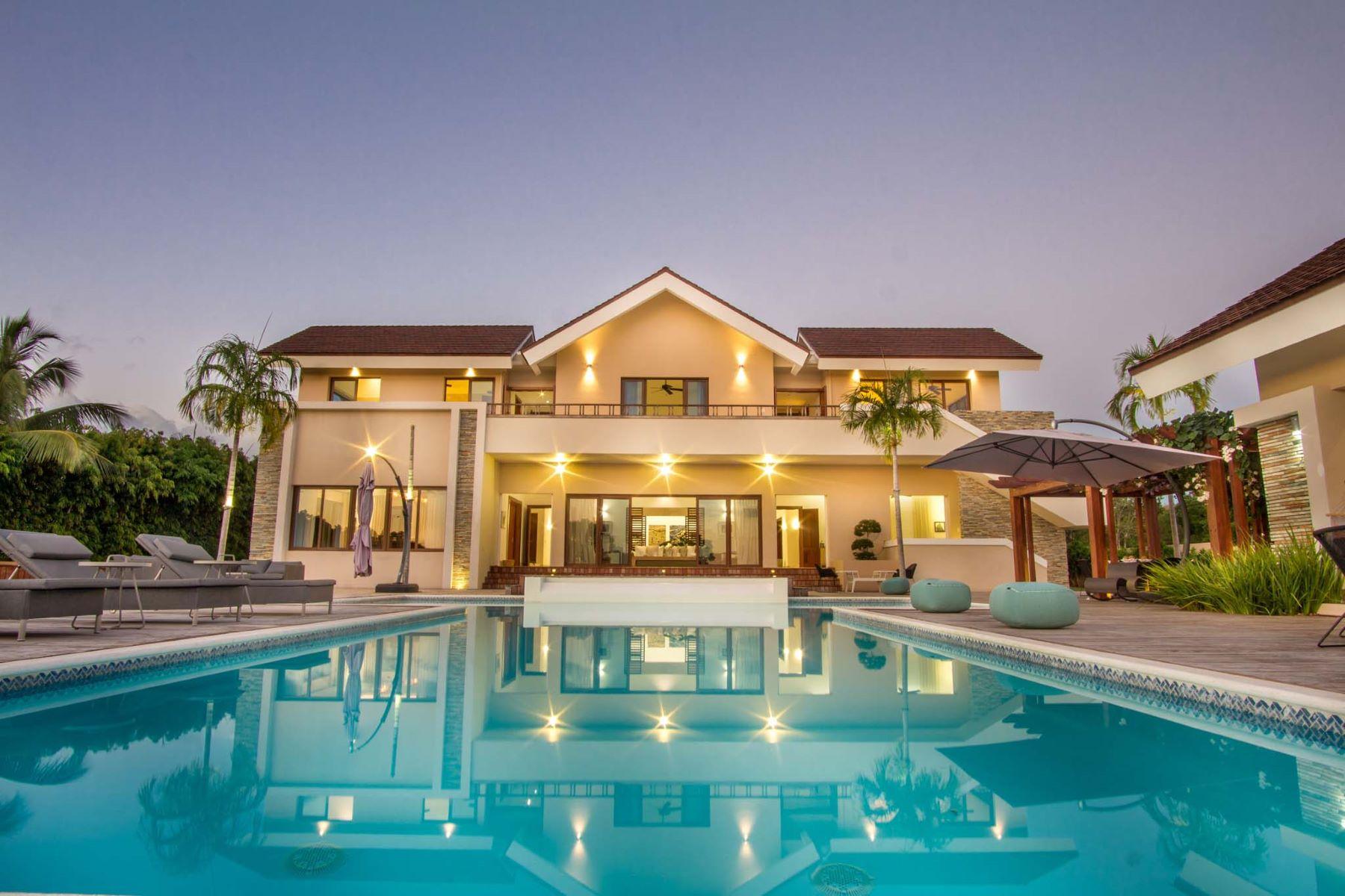 """Частный односемейный дом для того Продажа на Contemporary Caribbean Villa with Ocean and a view to """"Dye Fore"""" Casa De Campo, La Romana, Доминиканская Республика"""