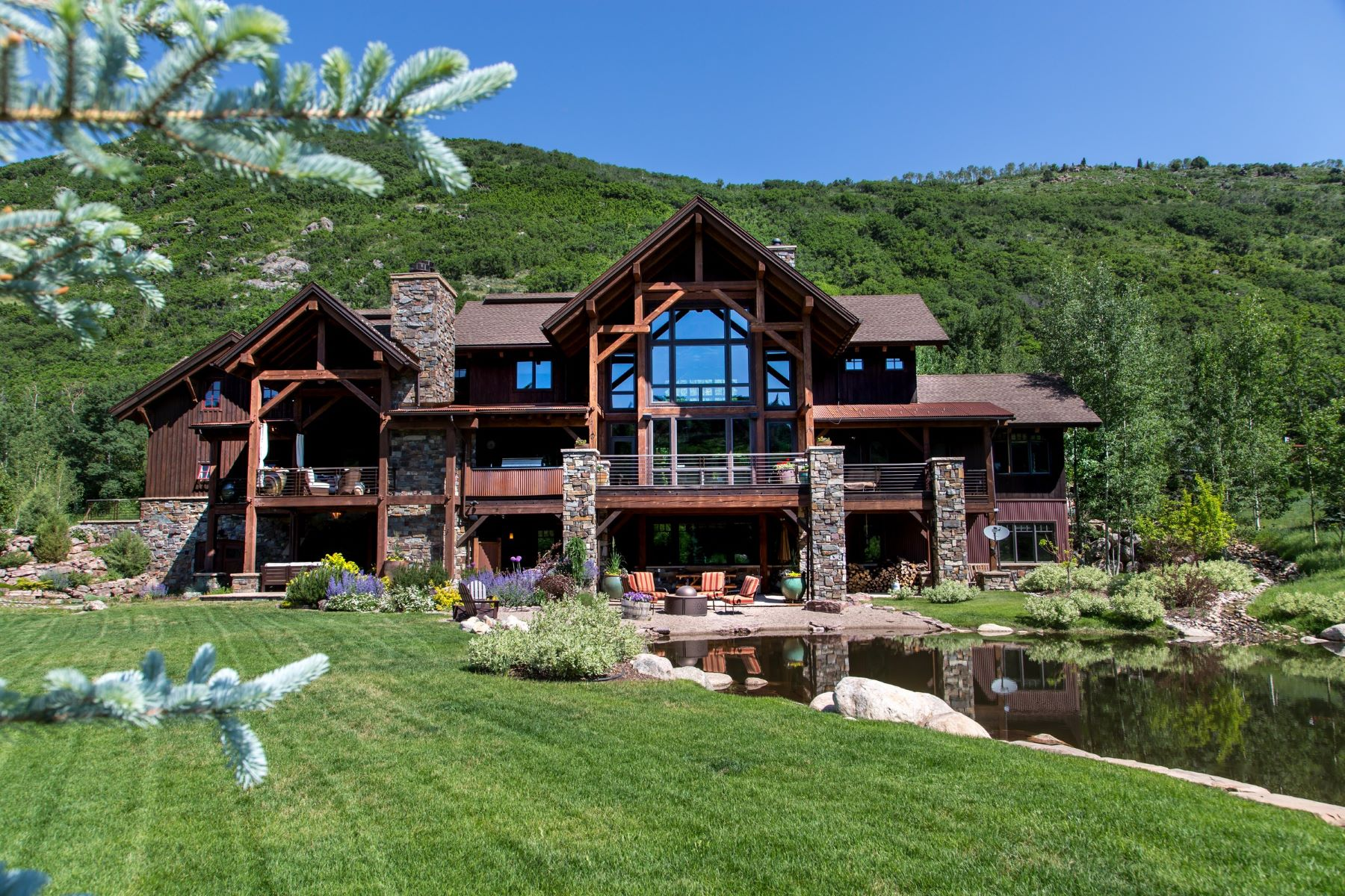 Maison unifamiliale pour l Vente à Elkins Meadow Masterpiece 2890 Bucks Path Steamboat Springs, Colorado, 80487 États-Unis