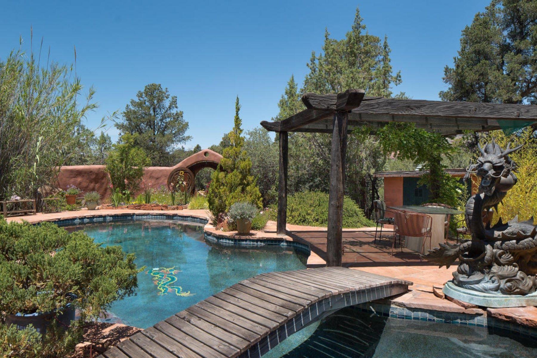 獨棟家庭住宅 為 出售 在 World renowned Power Feng-Shui artist and author created this home. 100 Turkey Creek Tr Sedona, 亞利桑那州, 86351 美國