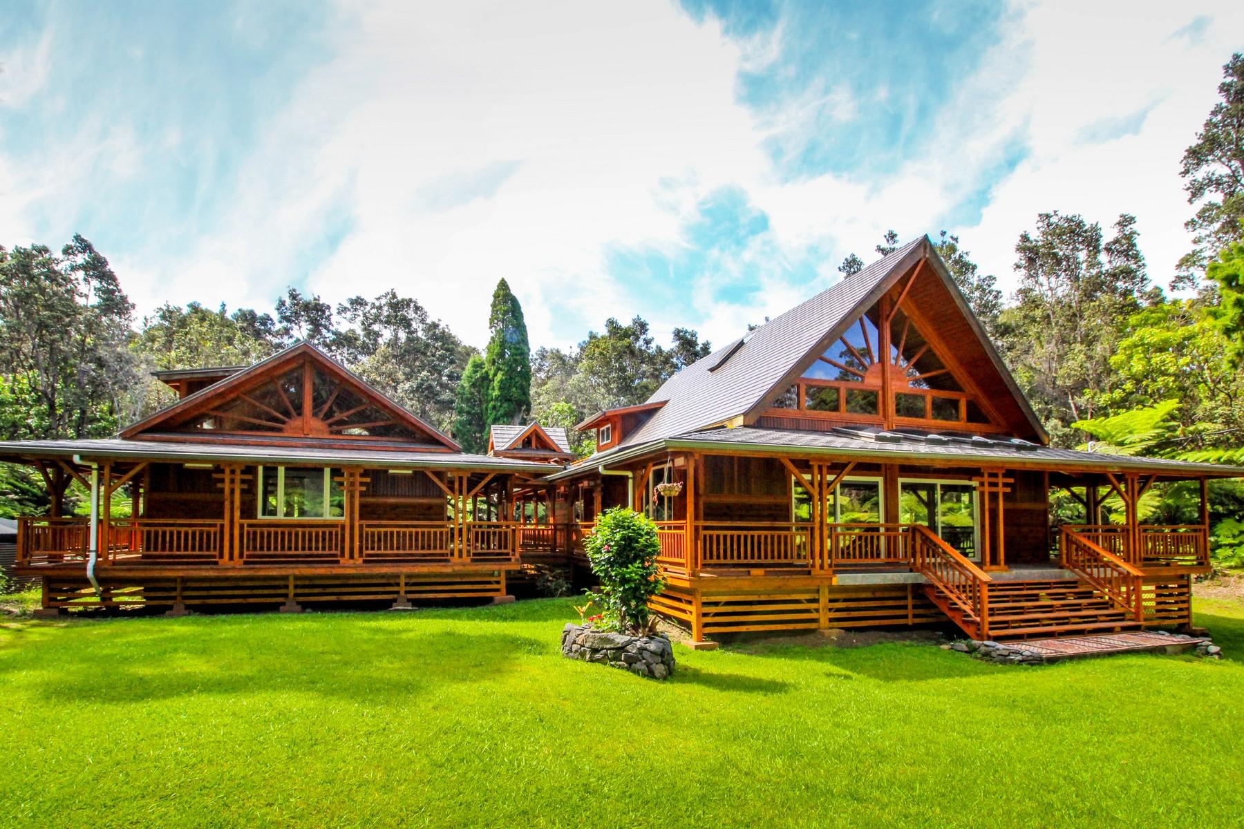 Casa para uma família para Venda às Olaa Summer Lots 19-3934 Laukapu Ave Volcano, Havaí, 96785 Estados Unidos