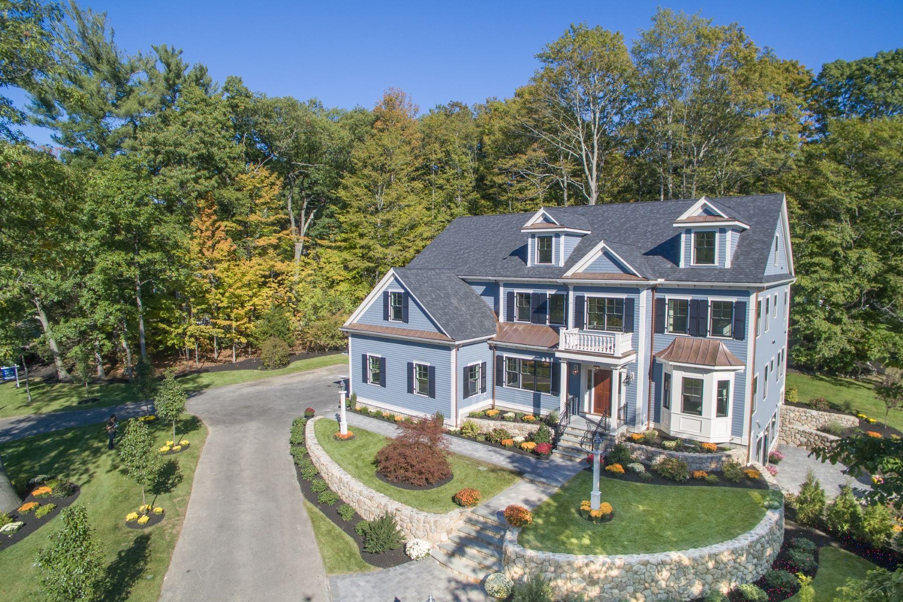 Maison unifamiliale pour l Vente à A True Statement! 71 Adams Street Lexington, Massachusetts, 02420 États-Unis