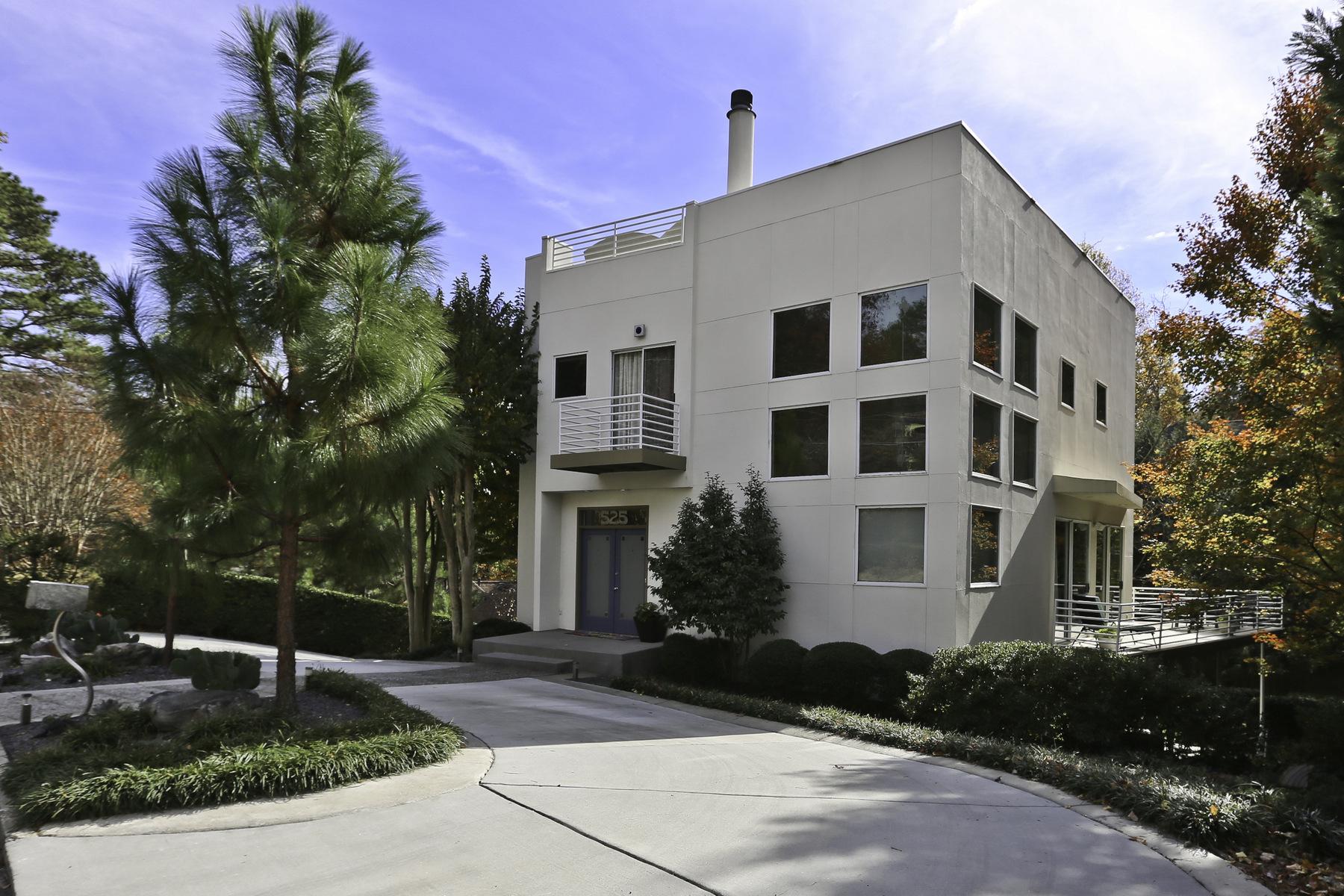 단독 가정 주택 용 매매 에 Modern in Buckhead by Franz Schneider 525 Danube Road NE North Buckhead, Atlanta, 조지아, 30342 미국