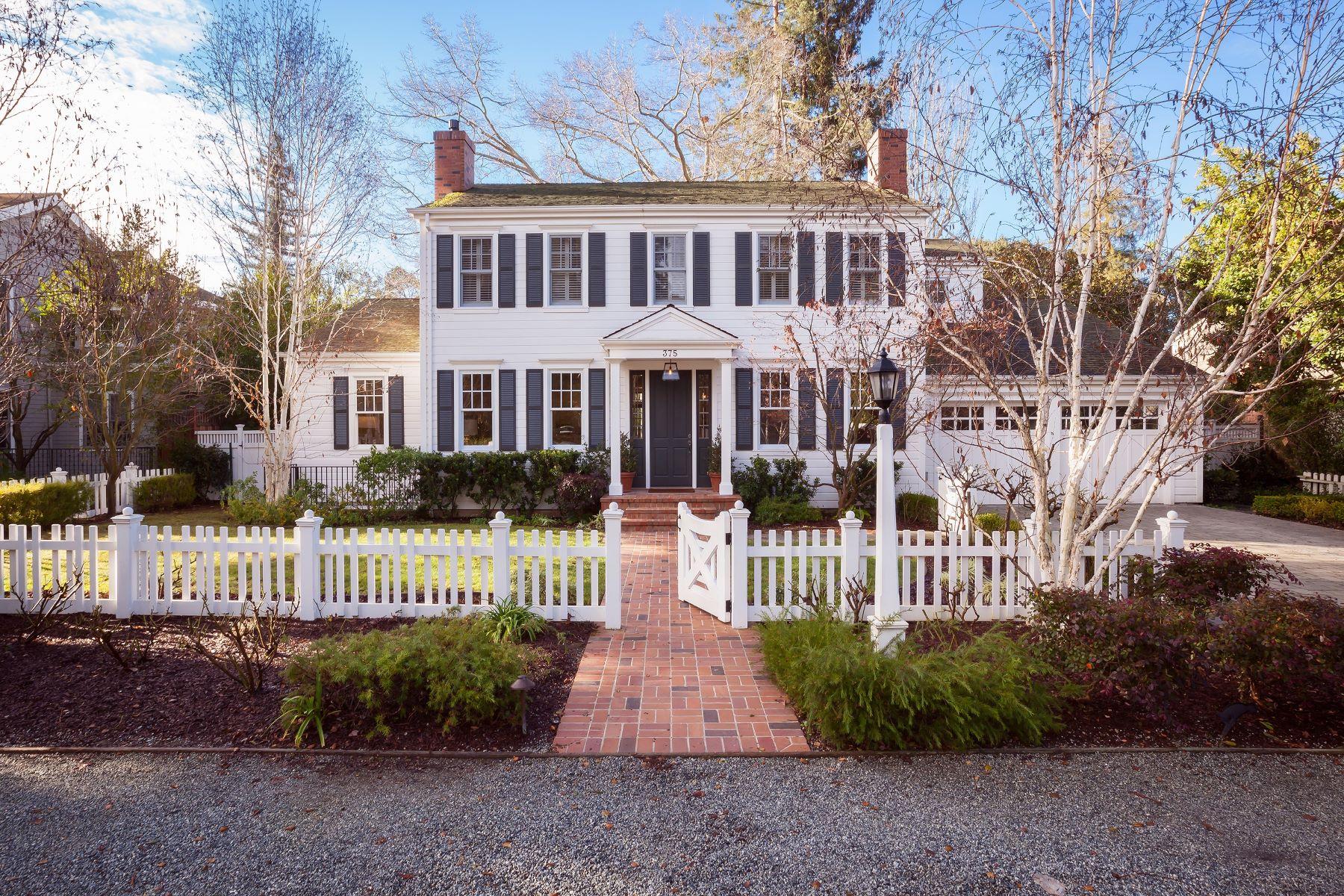 Single Family Home for Sale at 375 Santa Rita Ave Menlo Park, California 94025 United States