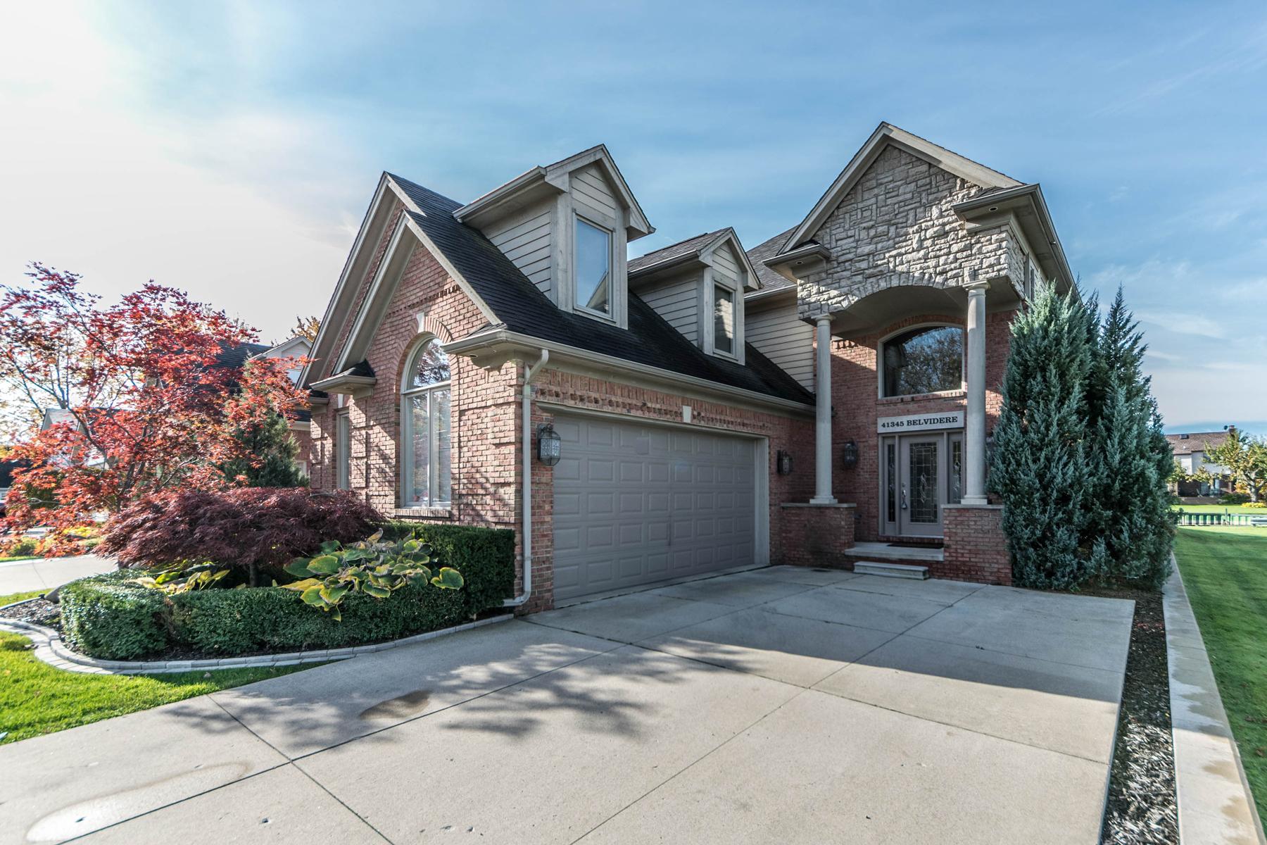 Casa Unifamiliar por un Venta en Harrison Township 41345 Belvidere Street Harrison Township, Michigan, 48045 Estados Unidos
