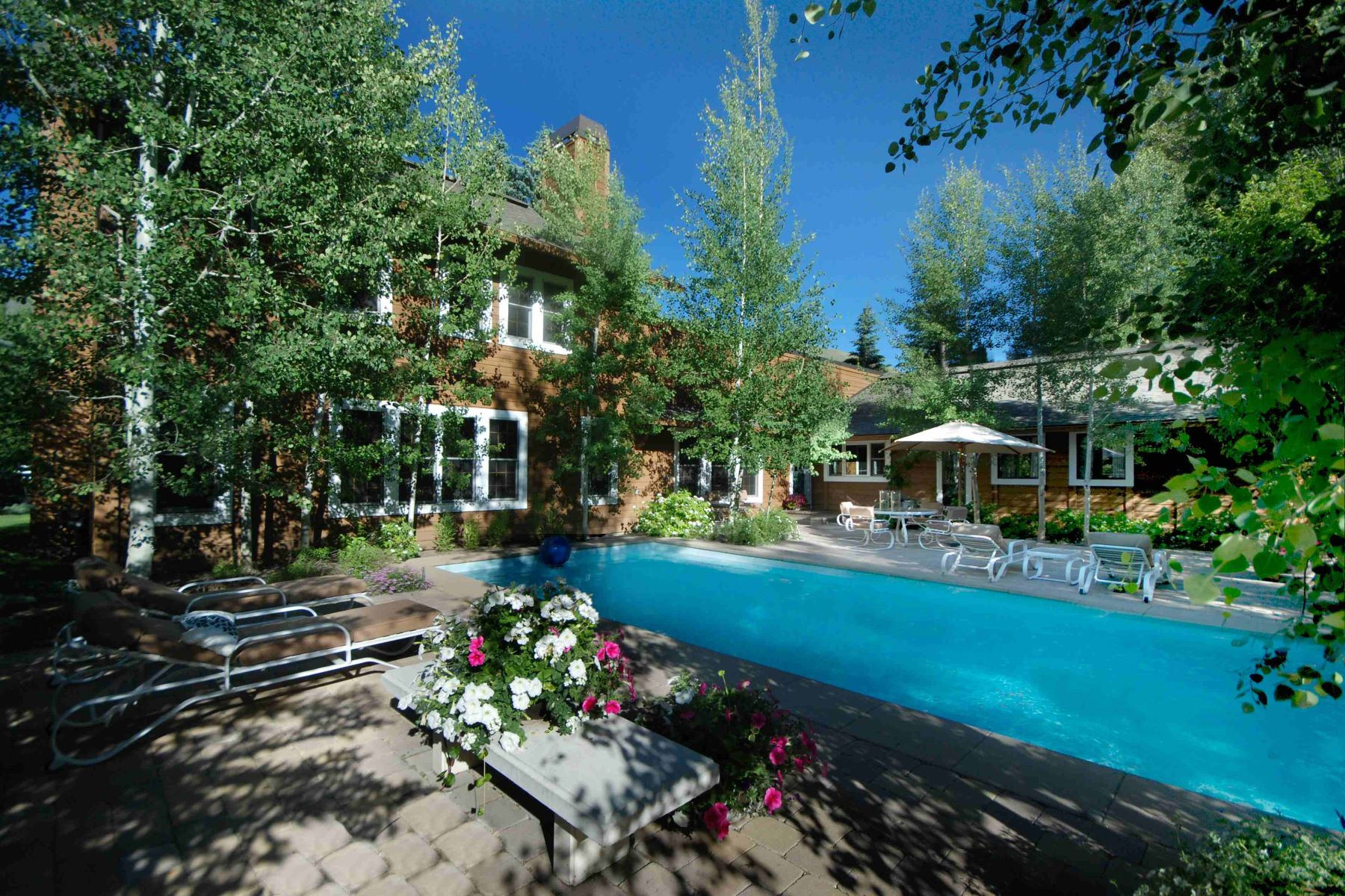 Casa para uma família para Venda às Aspen Hollow Elegance 113 Aspen Hollow Road Ketchum, Idaho, 83340 Estados Unidos