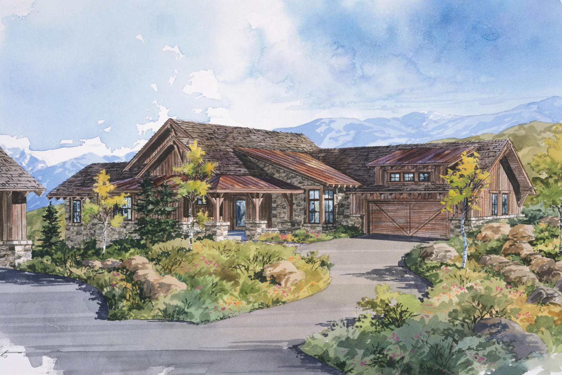 Casa Unifamiliar por un Venta en Park City Cabin in Promontory A Private Mountain Golf Recreational Community 3809 Cynthia Cir Lot 24 Park City, Utah, 84098 Estados Unidos