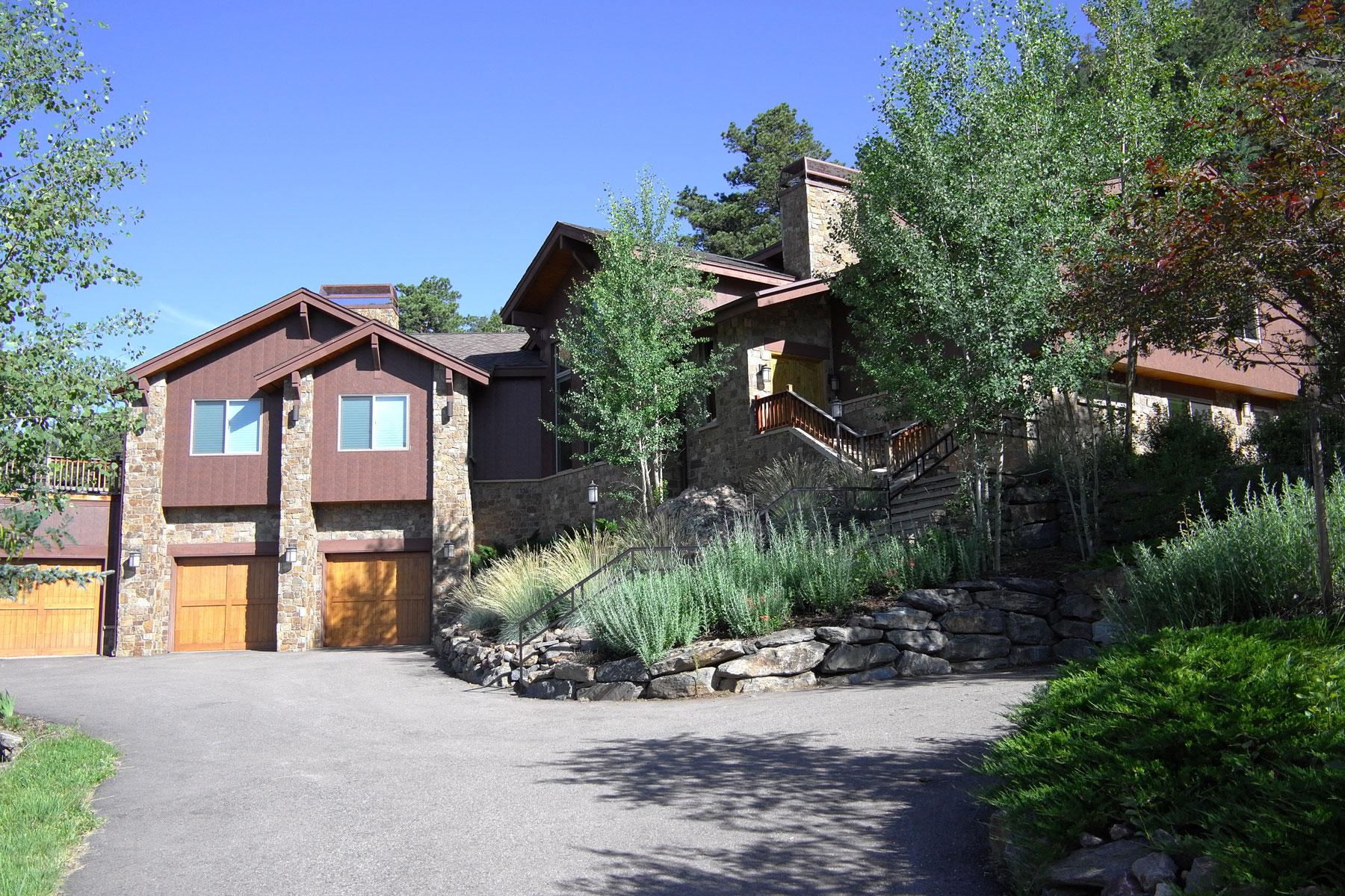 Частный односемейный дом для того Продажа на 127 Granite Way Evergreen, Колорадо, 80439 Соединенные Штаты