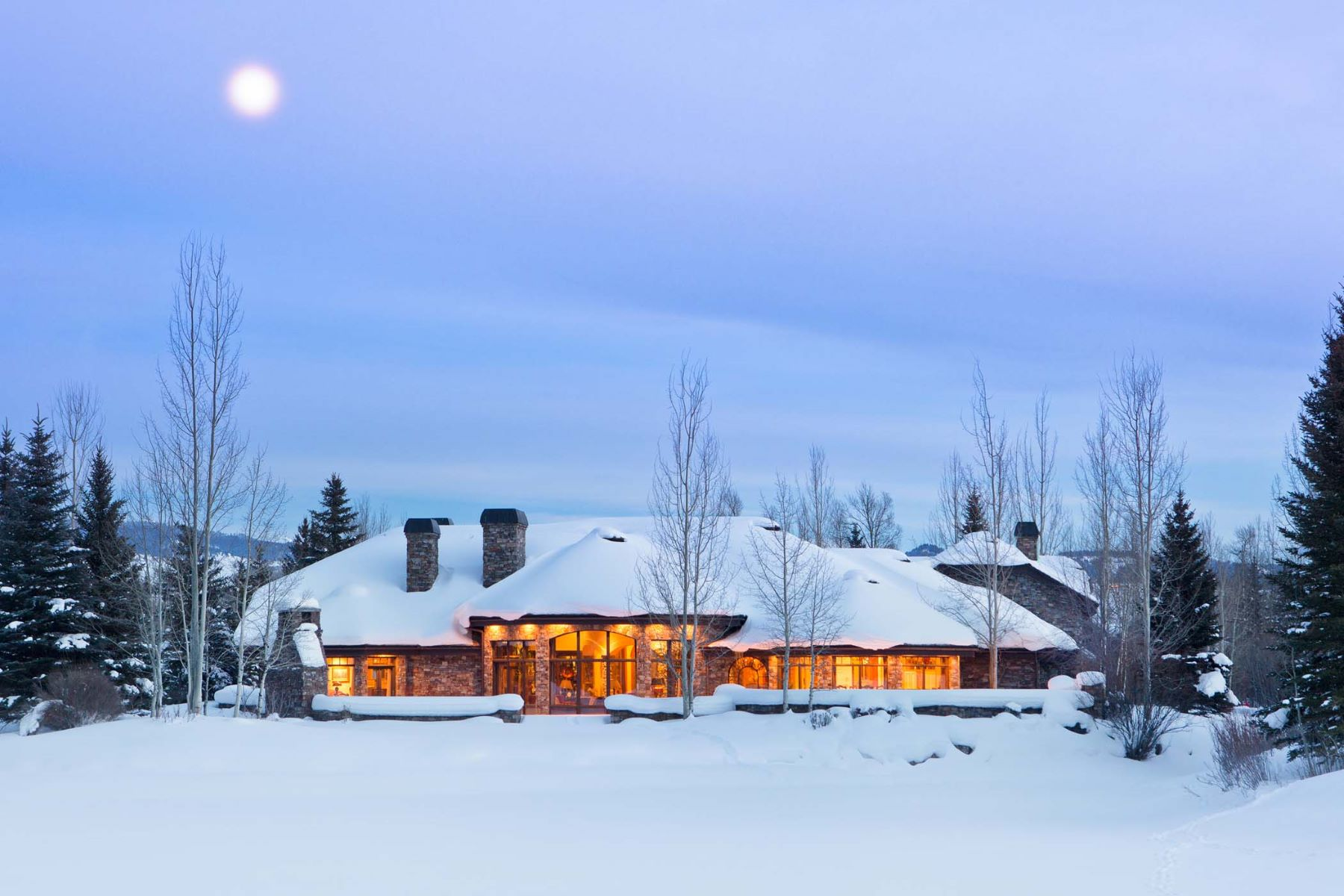 Villa per Vendita alle ore Old World Grandeur 4325 Greens Place Wilson, Wyoming, 83014 Jackson Hole, Stati Uniti