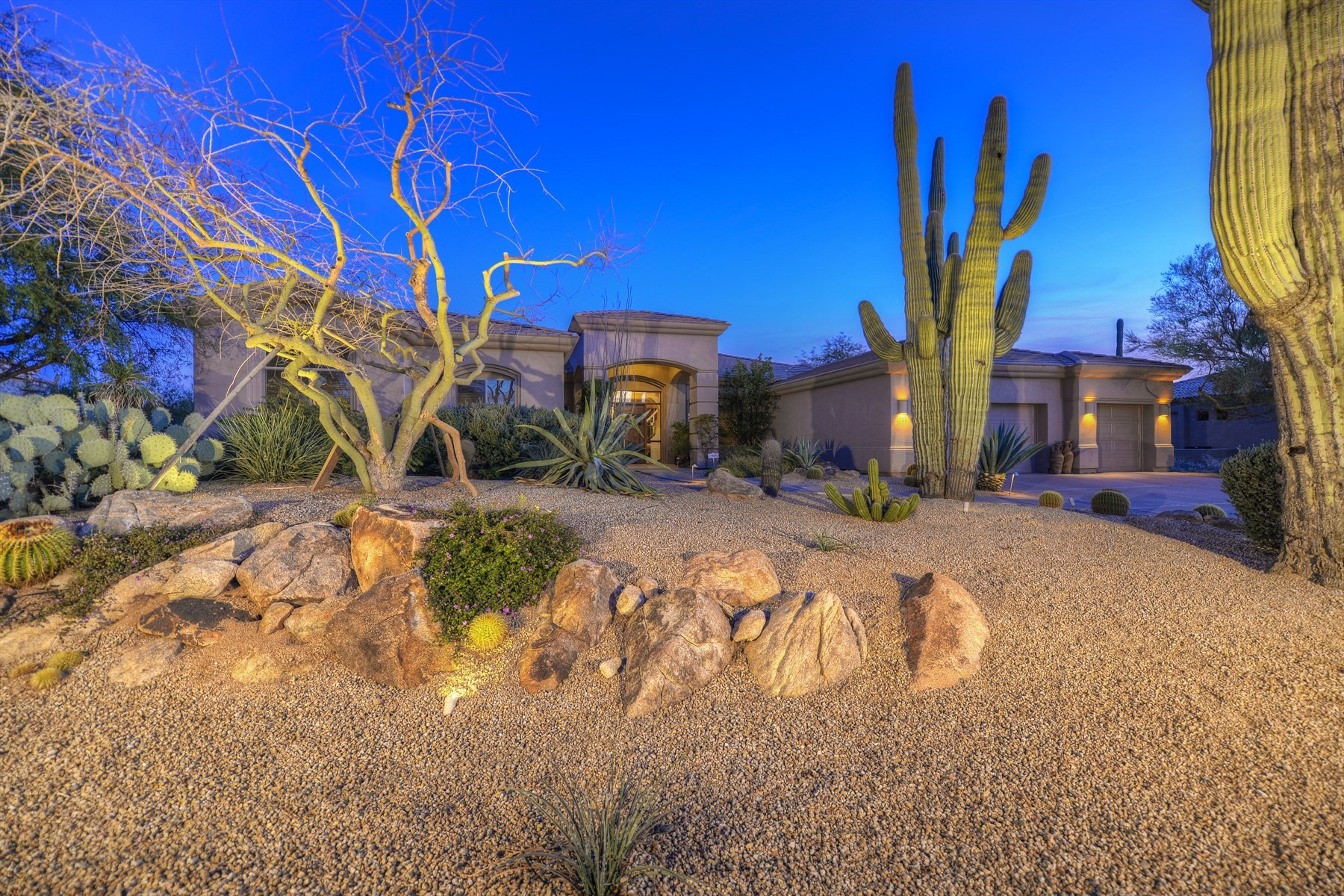 sales property at Custom soft contemporary home in Quail Run at Monterra