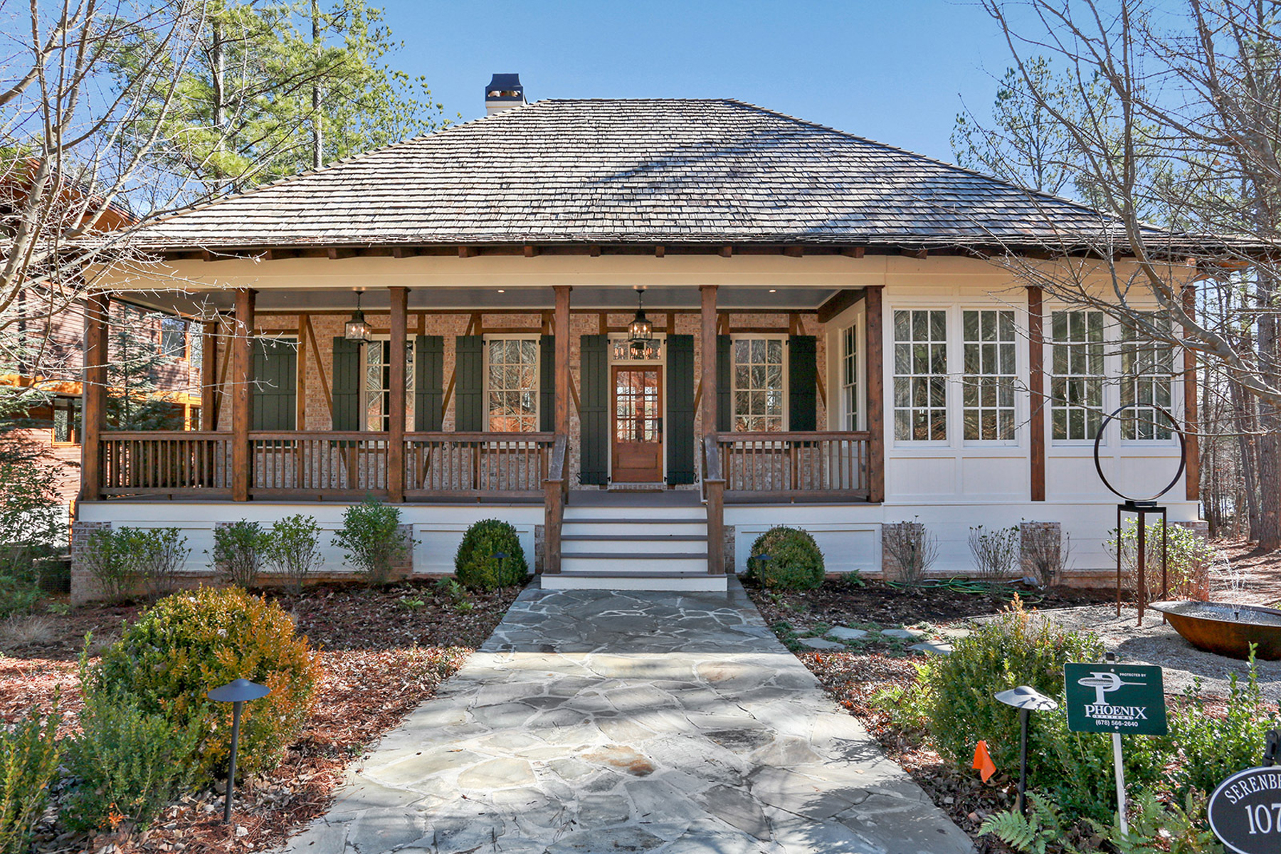Single Family Home for Active at 2015 Atlanta Homes & Lifestyles Designer Showhouse! 10748 Serenbe Lane Chattahoochee Hills, Georgia 30268 United States